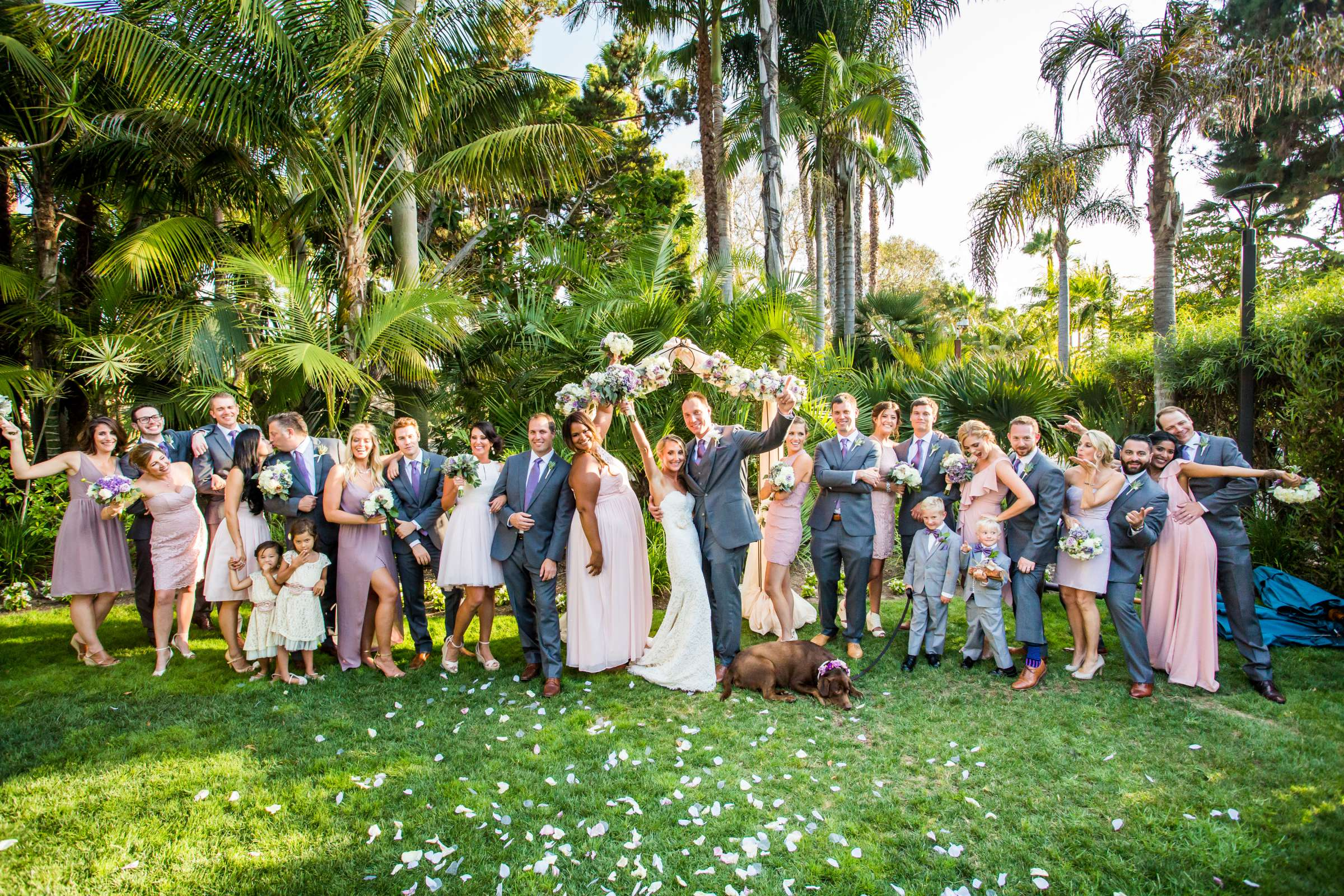 Paradise Point Wedding, Kimberly and Michael Wedding Photo #60 by True Photography