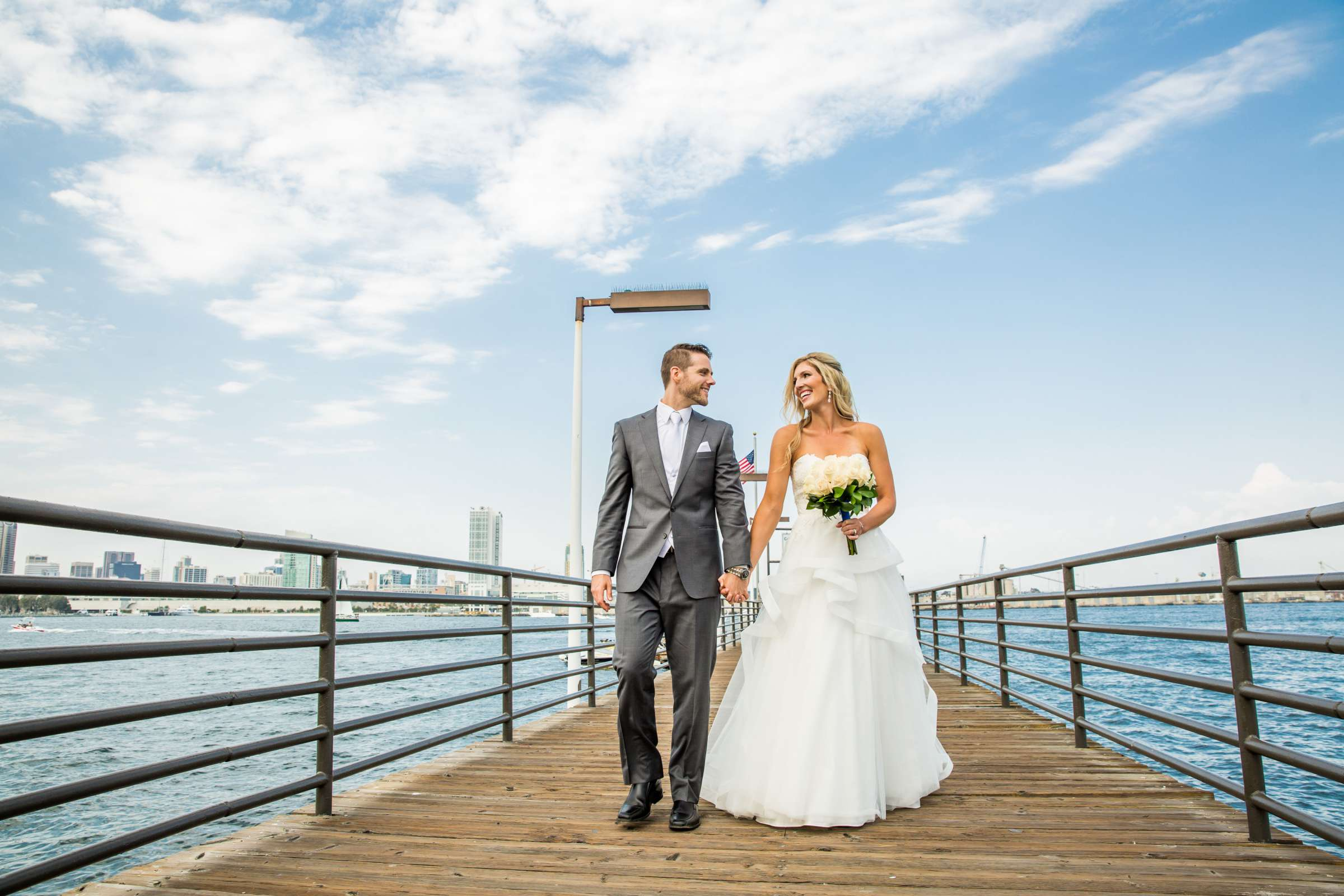 Coronado Island Marriott Resort & Spa Wedding coordinated by Lindsay Nicole Weddings & Events, Christine and Preston Wedding Photo #245831 by True Photography