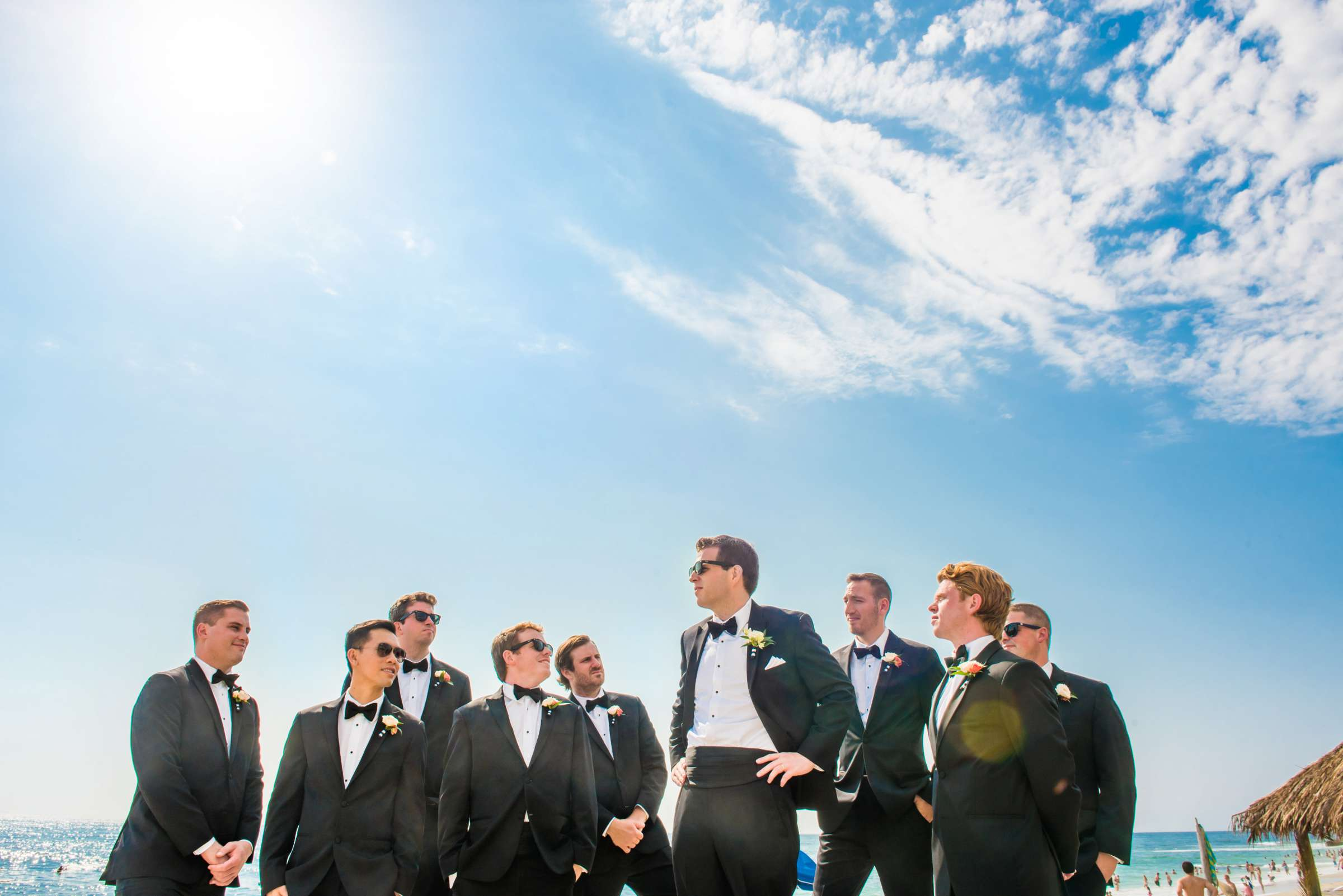 Groomsmen at Bahia Hotel Wedding coordinated by I Do Weddings, Meredith and Jack Wedding Photo #11 by True Photography