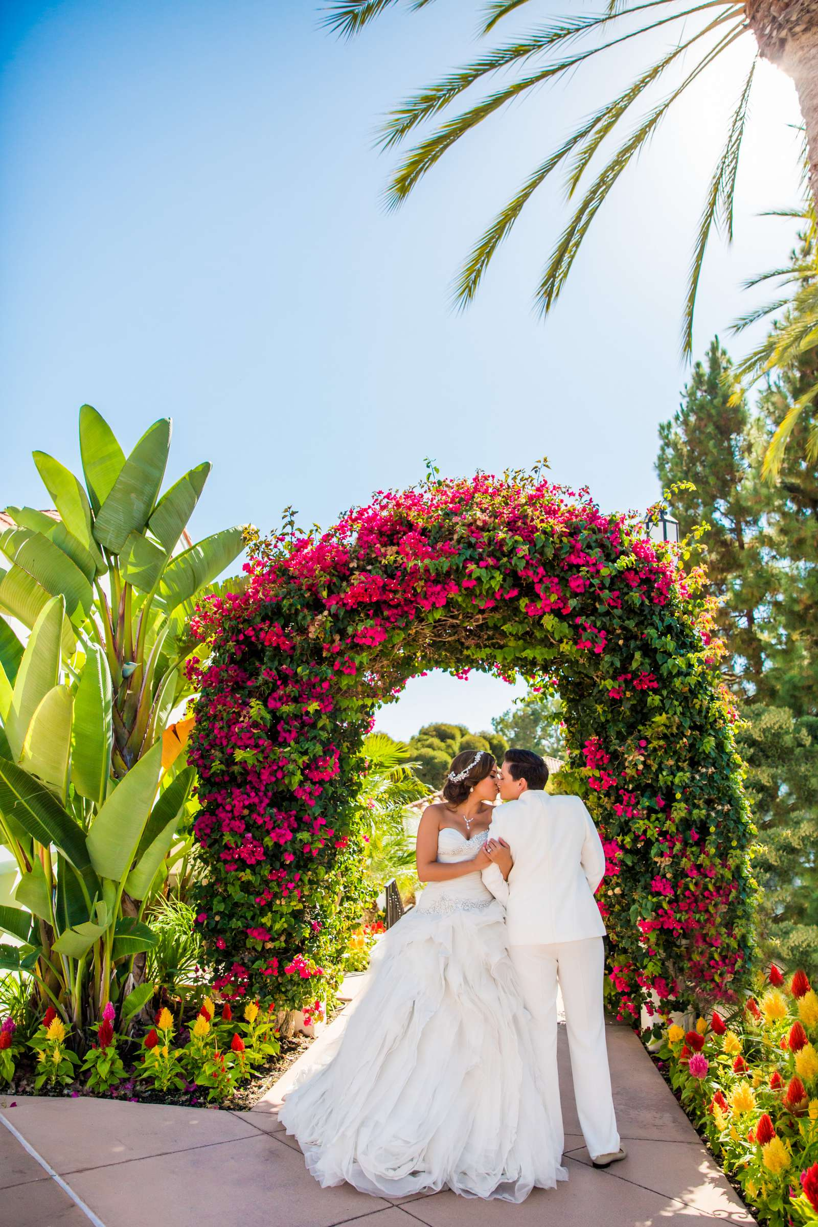 Omni La Costa Resort & Spa Wedding coordinated by Nahid Global Events, Natasha and Kate Wedding Photo #257334 by True Photography