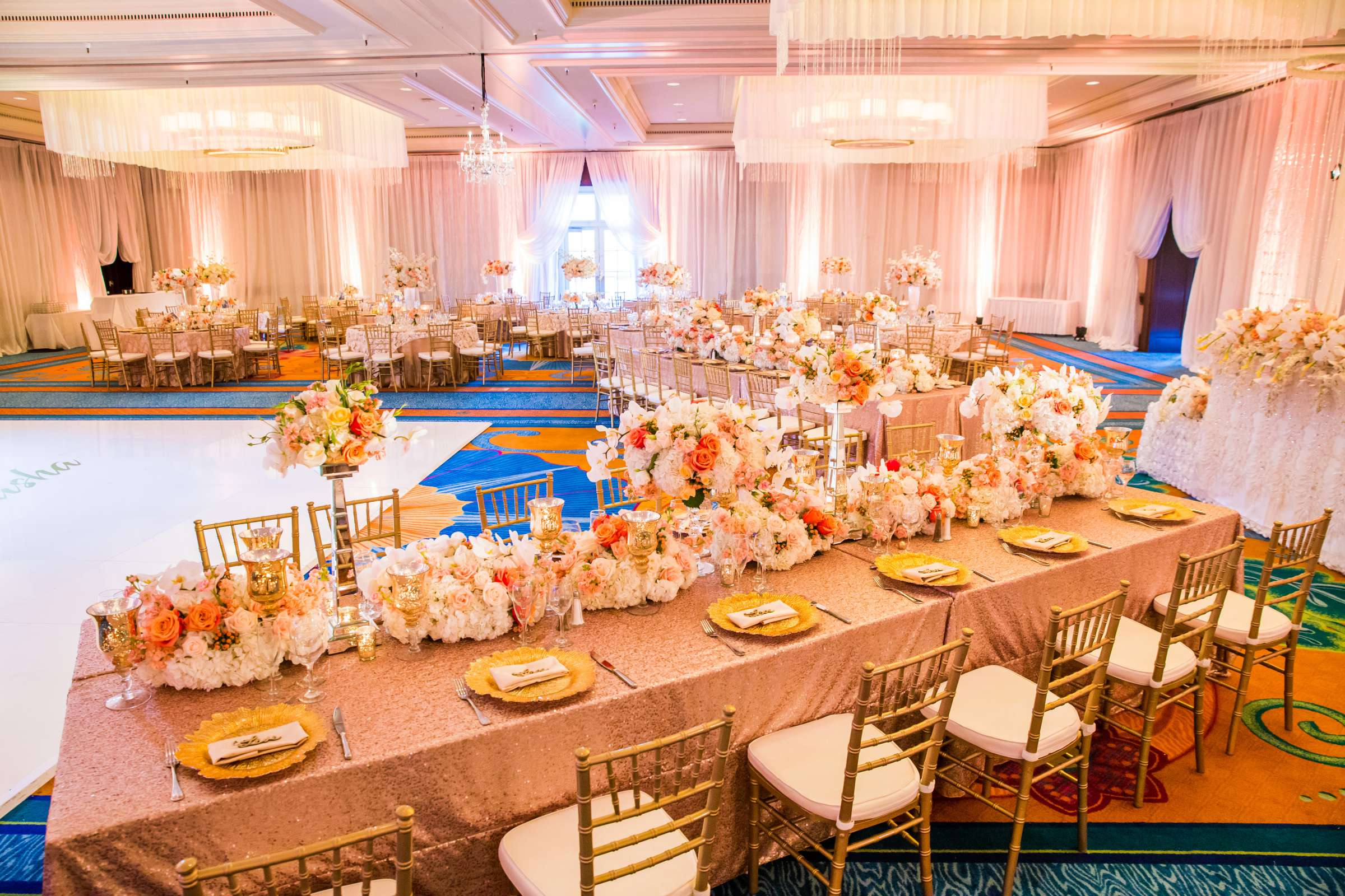 Omni La Costa Resort & Spa Wedding coordinated by Nahid Global Events, Natasha and Kate Wedding Photo #257354 by True Photography
