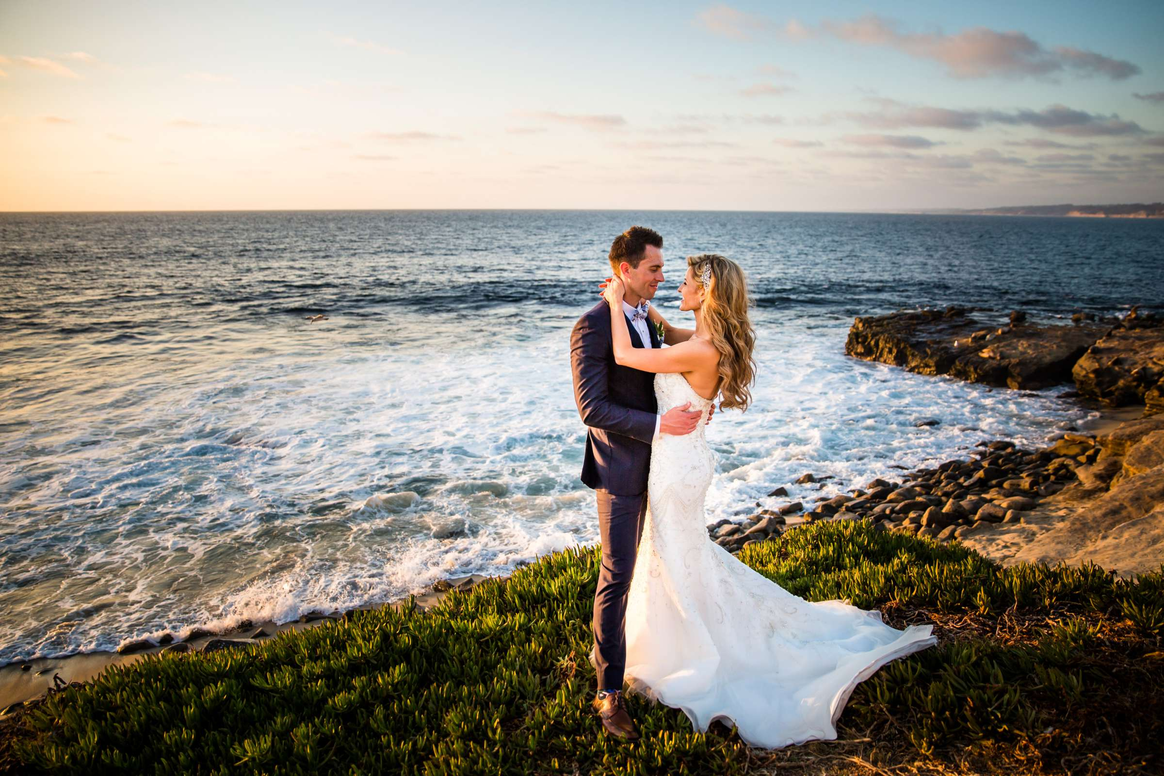 La Valencia Wedding coordinated by SD Weddings by Gina, Cindi and Luke Wedding Photo #1 by True Photography