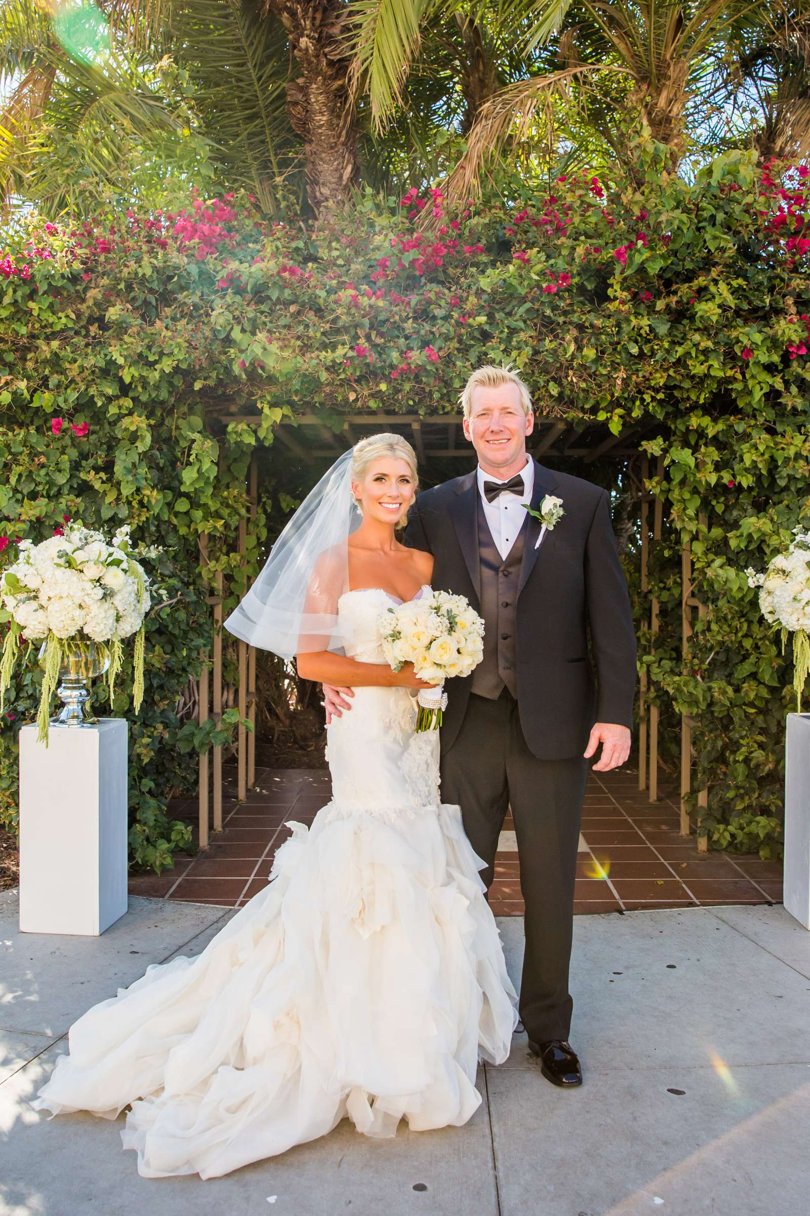 Formal Portrait at Waterfront Park Wedding coordinated by Socal Soiree, Jennell and Terry Wedding Photo #6 by True Photography