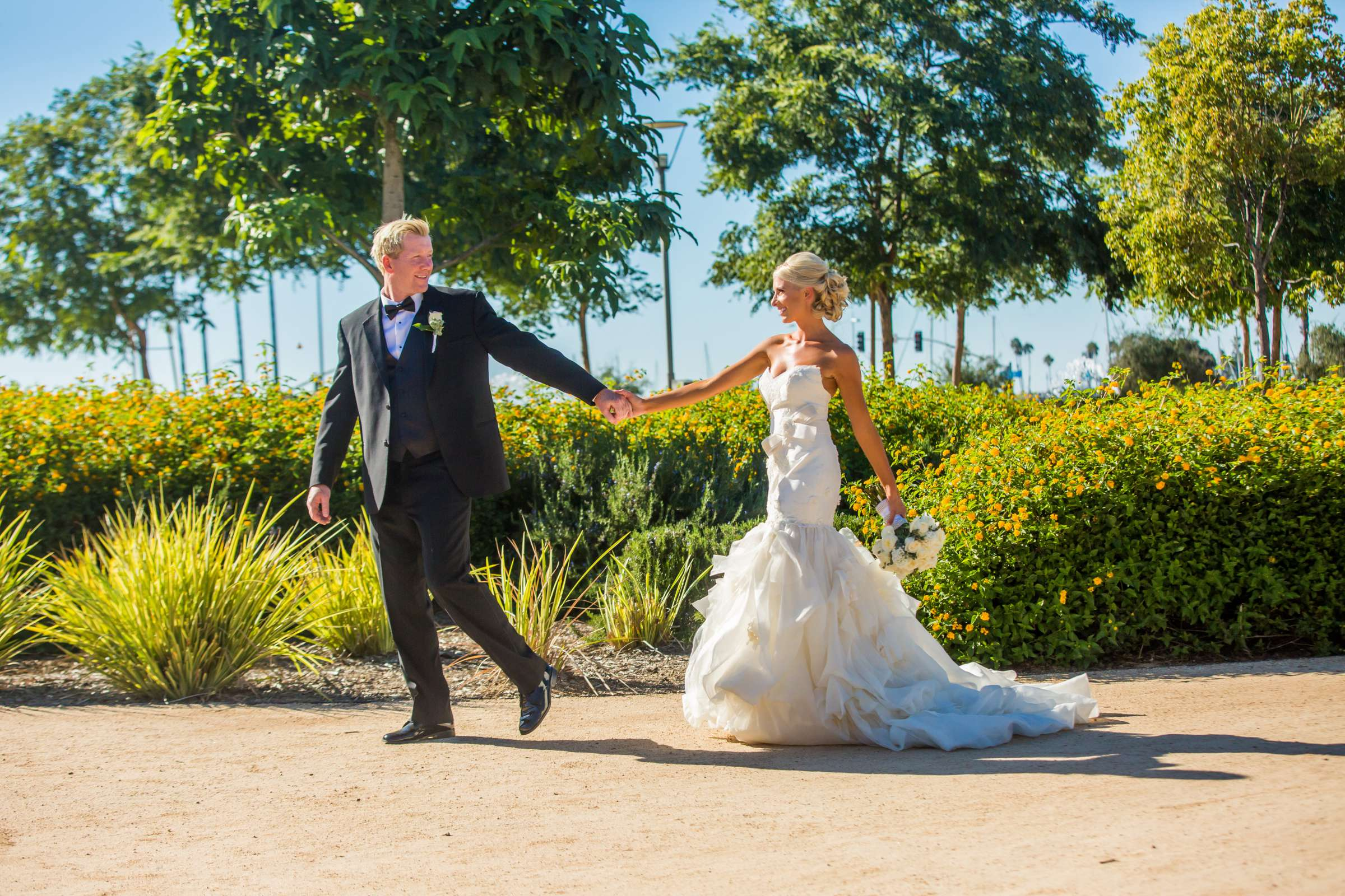 Waterfront Park Wedding coordinated by Socal Soiree, Jennell and Terry Wedding Photo #23 by True Photography