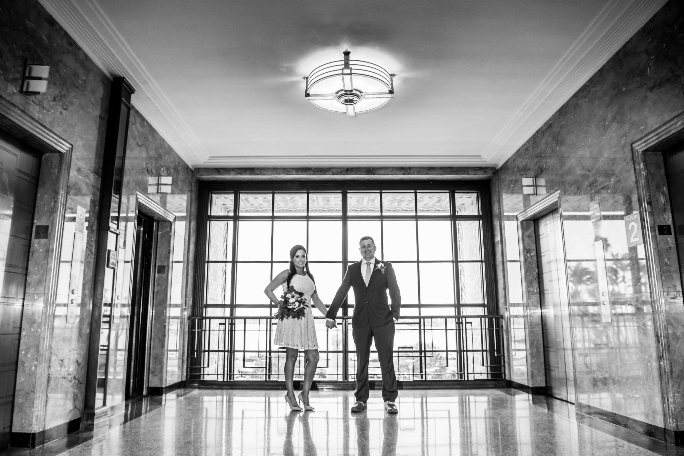 San Diego Courthouse Wedding, Alyah and Brian Wedding Photo #13 by True Photography
