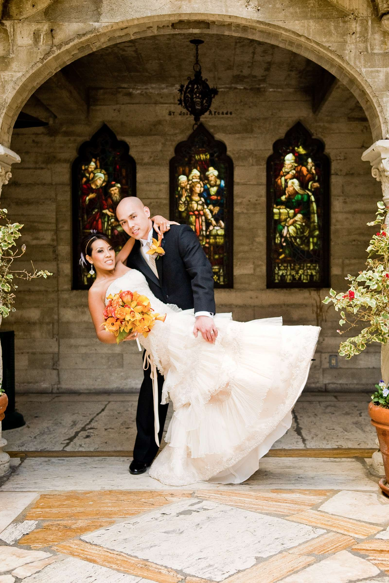 The Mission Inn-Riverside Wedding, Theresa and Francis Wedding Photo #301547 by True Photography