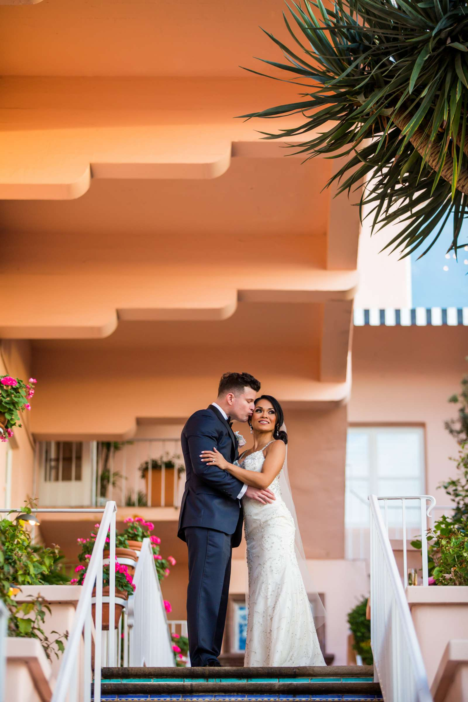 La Valencia Wedding, Michelle and James Wedding Photo #1 by True Photography