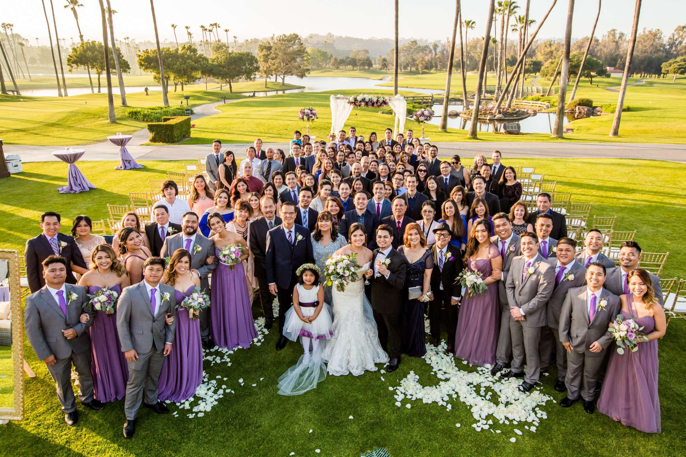 Fairbanks Ranch Country Club Wedding coordinated by Lavish Weddings, Carmi and Loriel Wedding Photo #337490 by True Photography