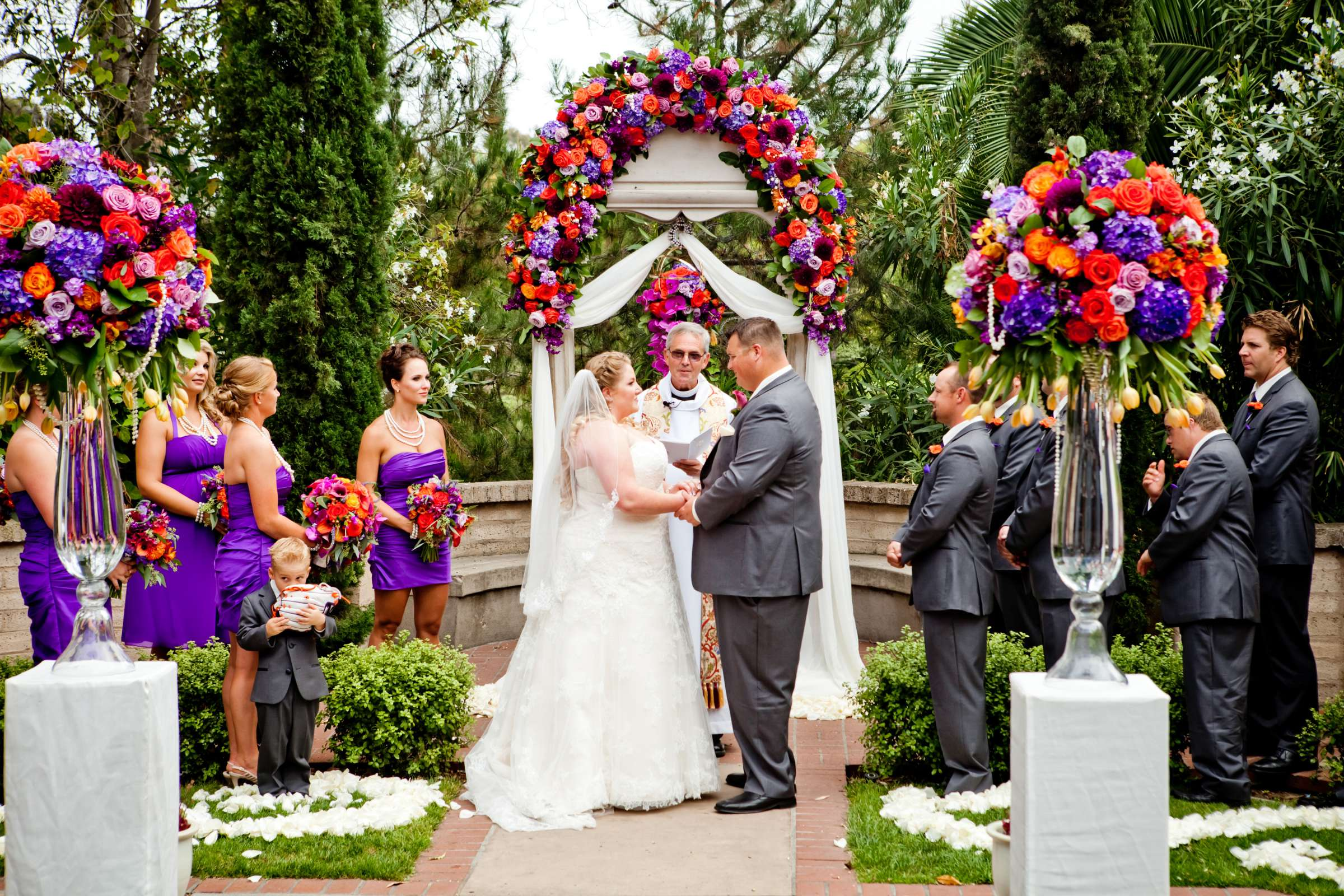 The Prado Wedding coordinated by Monarch Weddings, Eileen and Robbie Wedding Photo #45 by True Photography