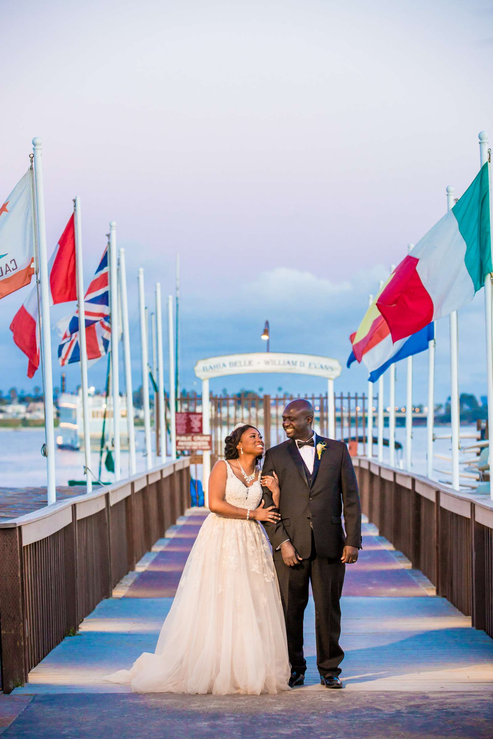 Catamaran Resort Wedding coordinated by Events Inspired SD, Vanessa and Akorli Wedding Photo #17 by True Photography