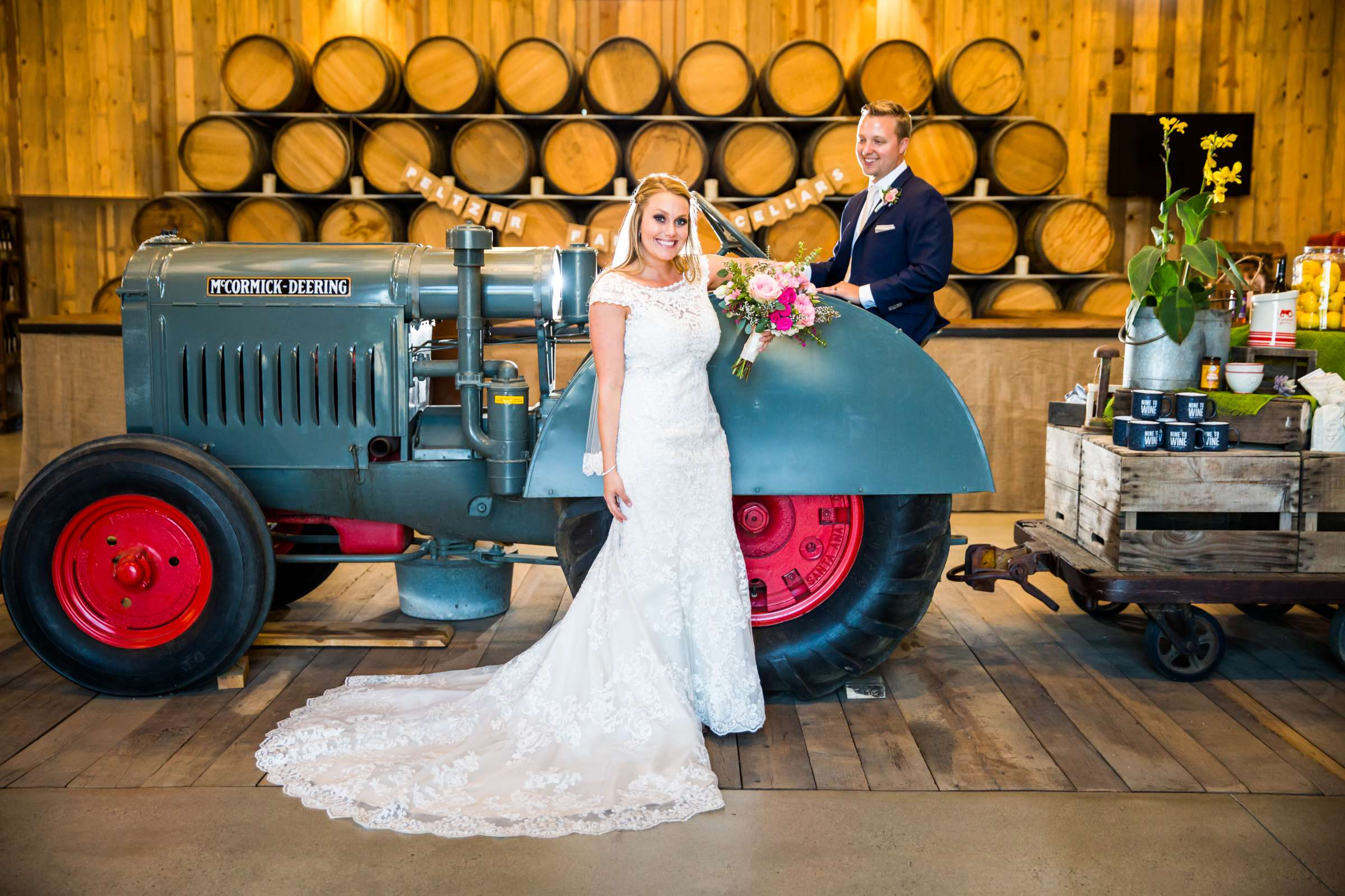Peltzer Winery Wedding, Jaclyn and Nick Wedding Photo #9 by True Photography