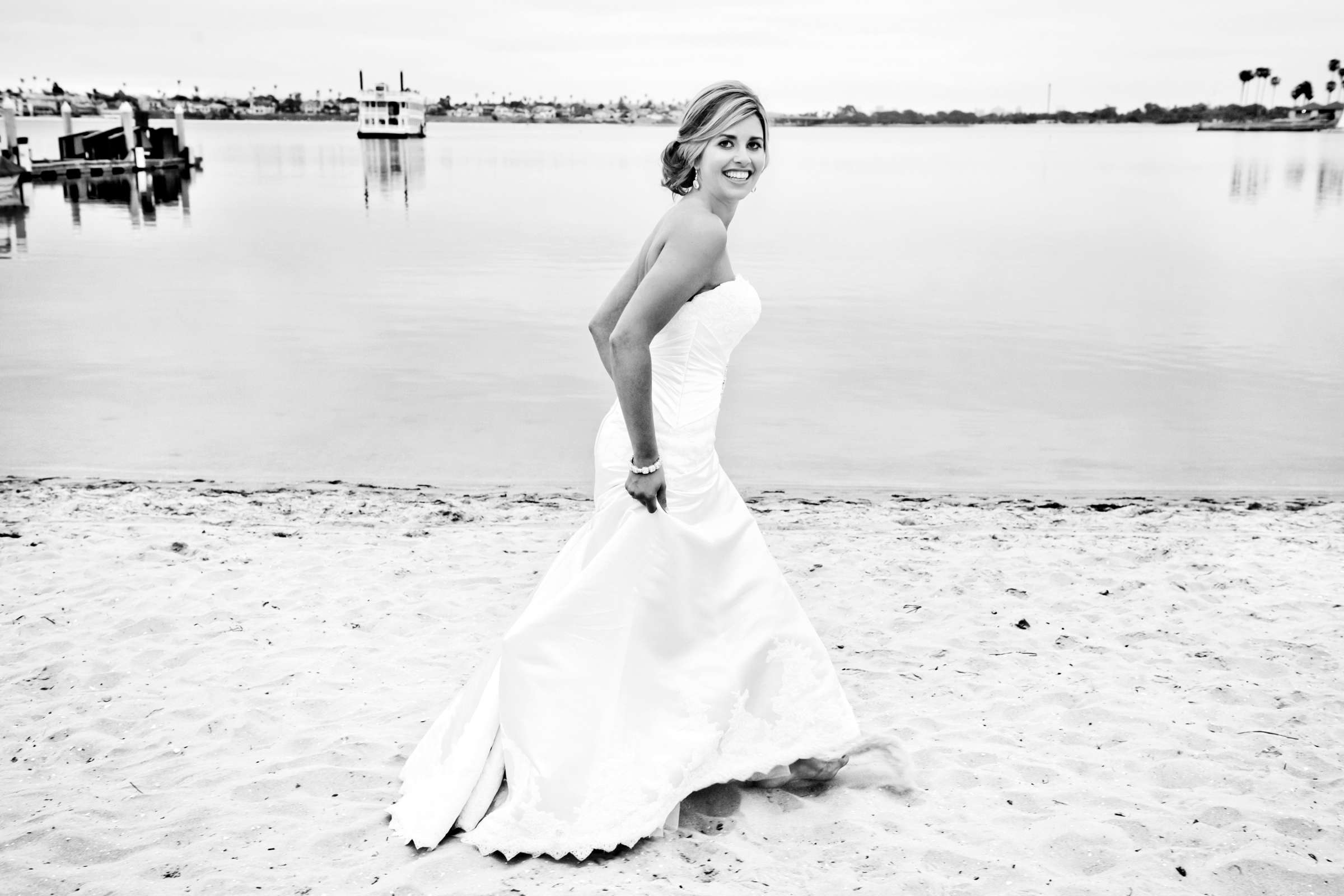 Catamaran Resort Wedding coordinated by A Diamond Celebration, Andrea and Mitch Wedding Photo #357865 by True Photography