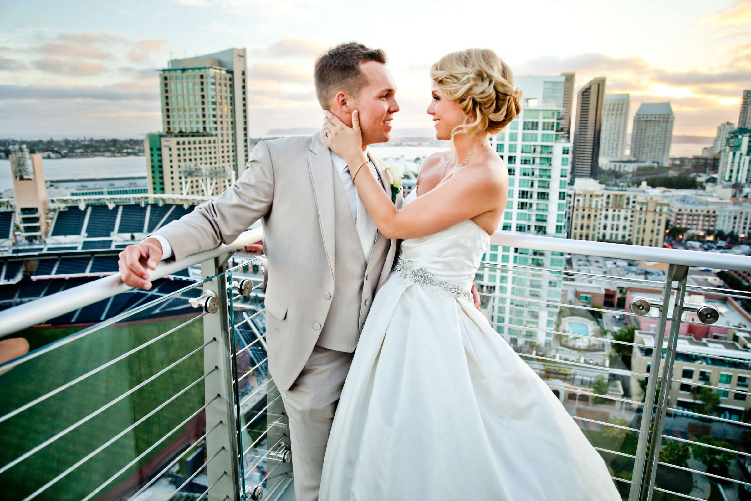 Ultimate Skybox Wedding, Kelly and Daniel Wedding Photo #3 by True Photography