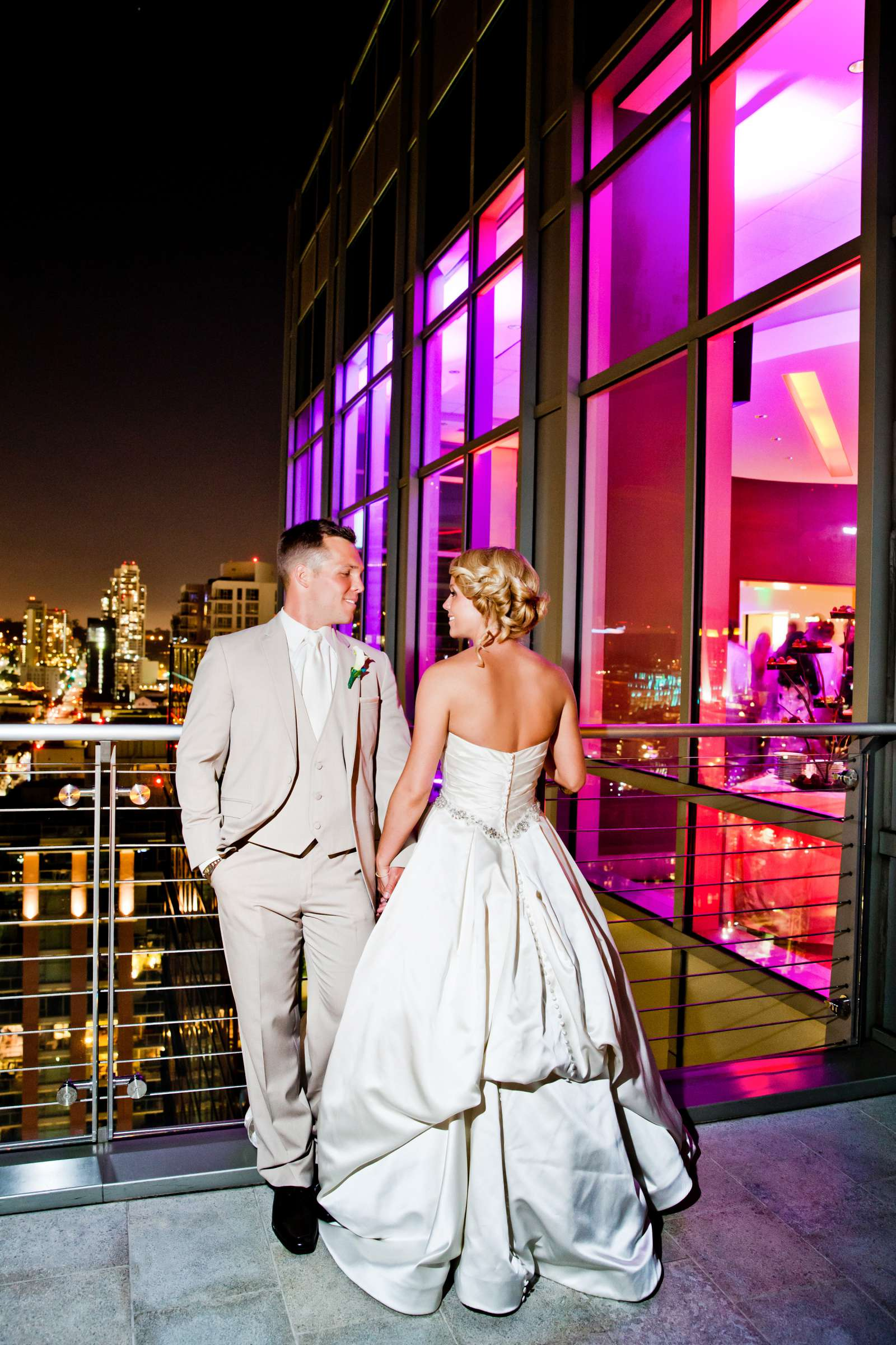 Ultimate Skybox Wedding, Kelly and Daniel Wedding Photo #8 by True Photography