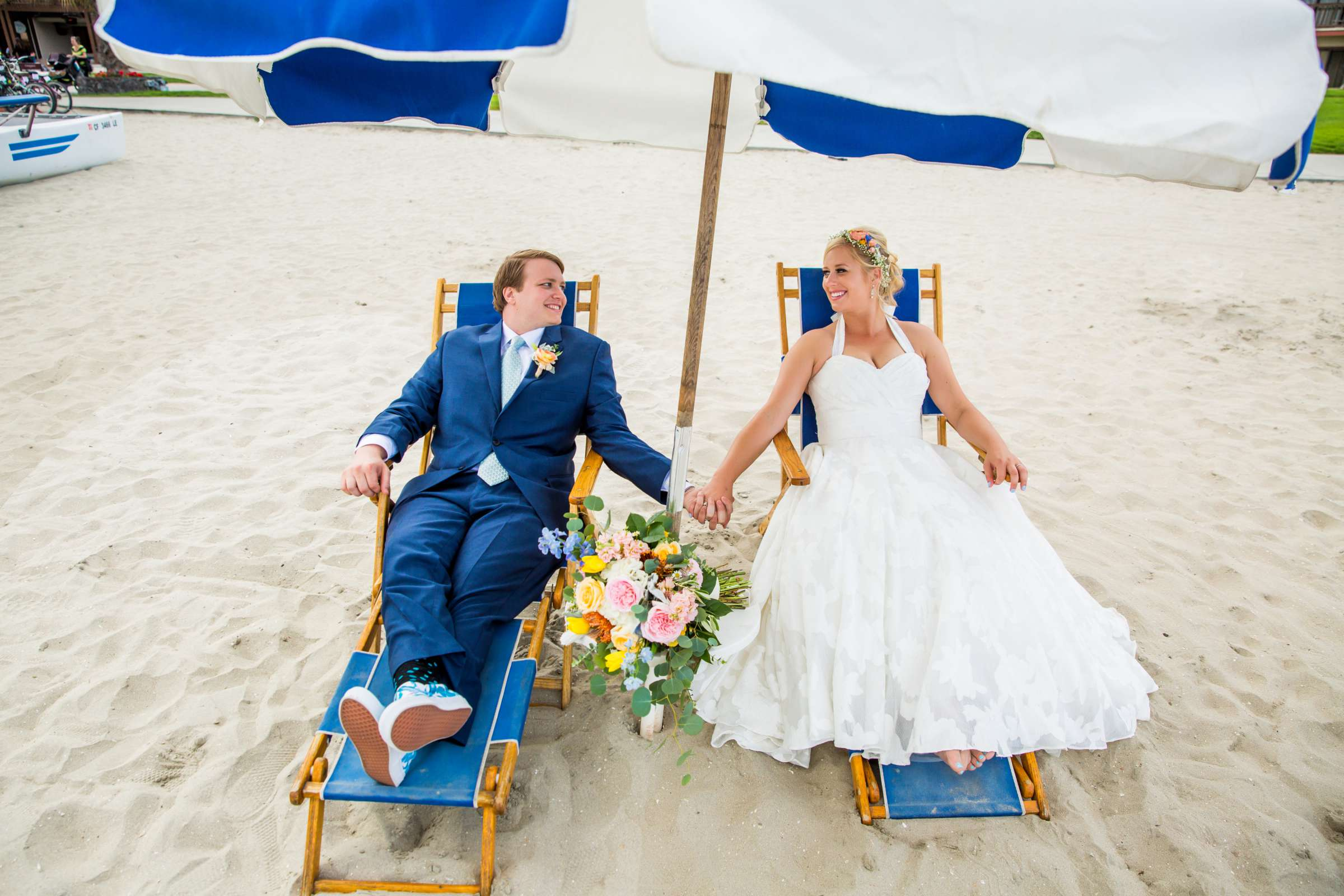 Catamaran Resort Wedding coordinated by Lavish Weddings, Brittany and David Wedding Photo #1 by True Photography