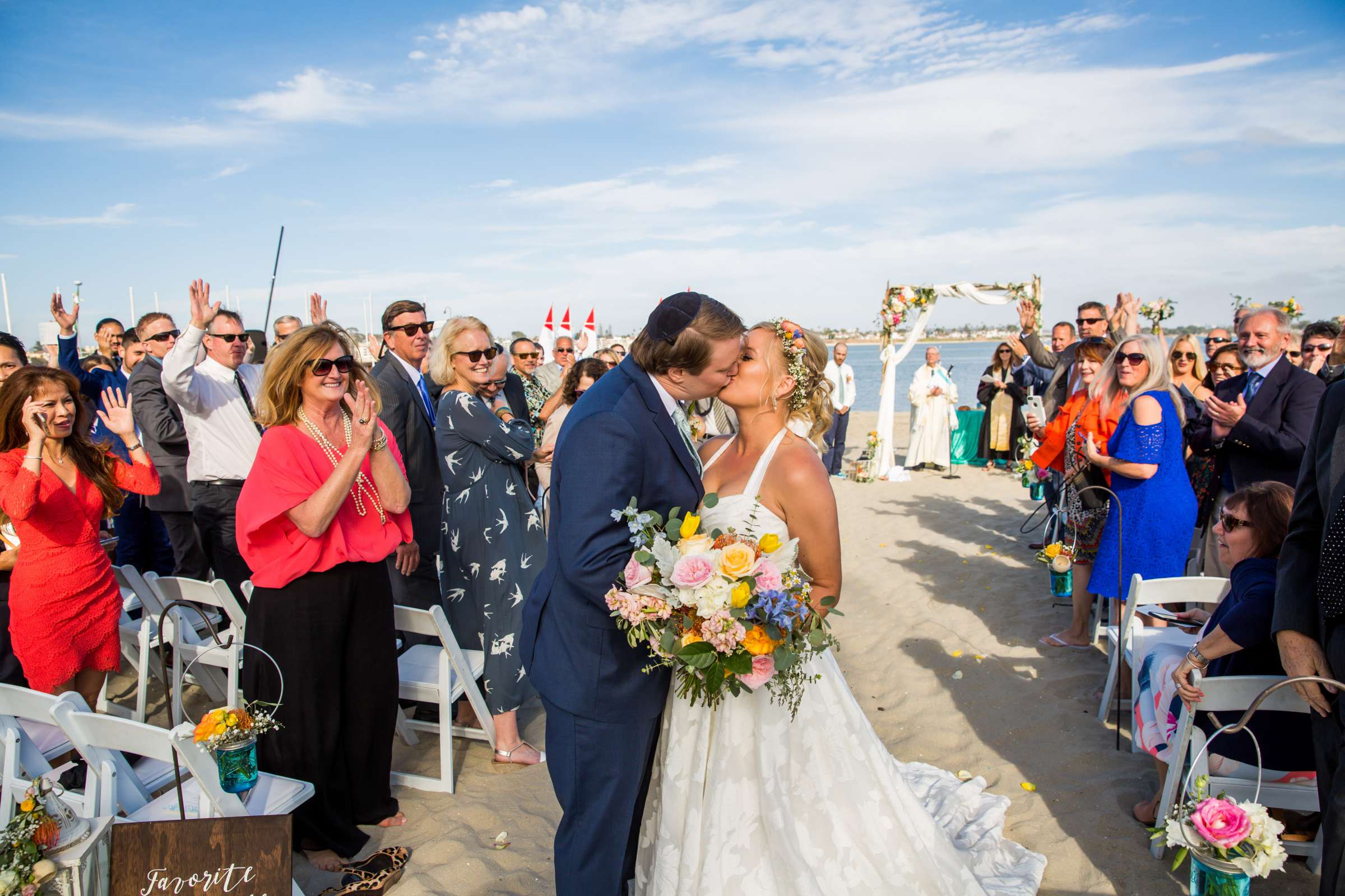 Catamaran Resort Wedding coordinated by Lavish Weddings, Brittany and David Wedding Photo #11 by True Photography