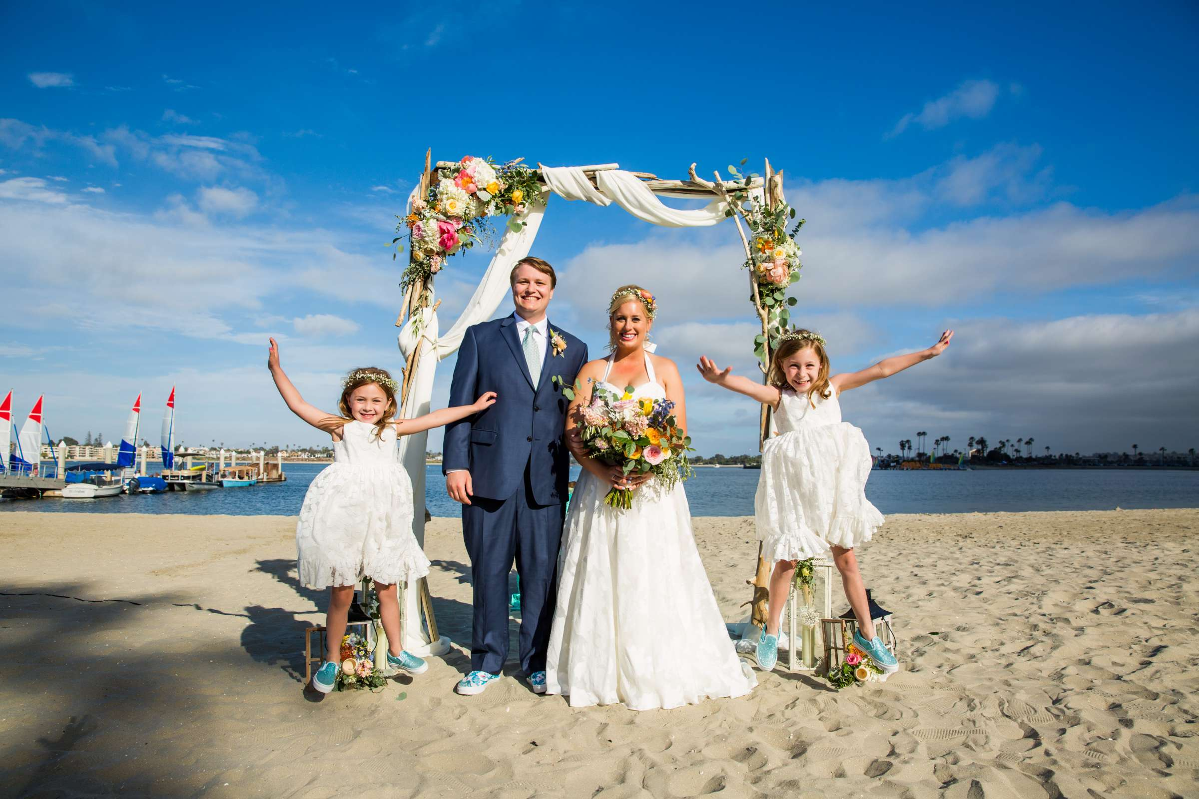 Catamaran Resort Wedding coordinated by Lavish Weddings, Brittany and David Wedding Photo #15 by True Photography
