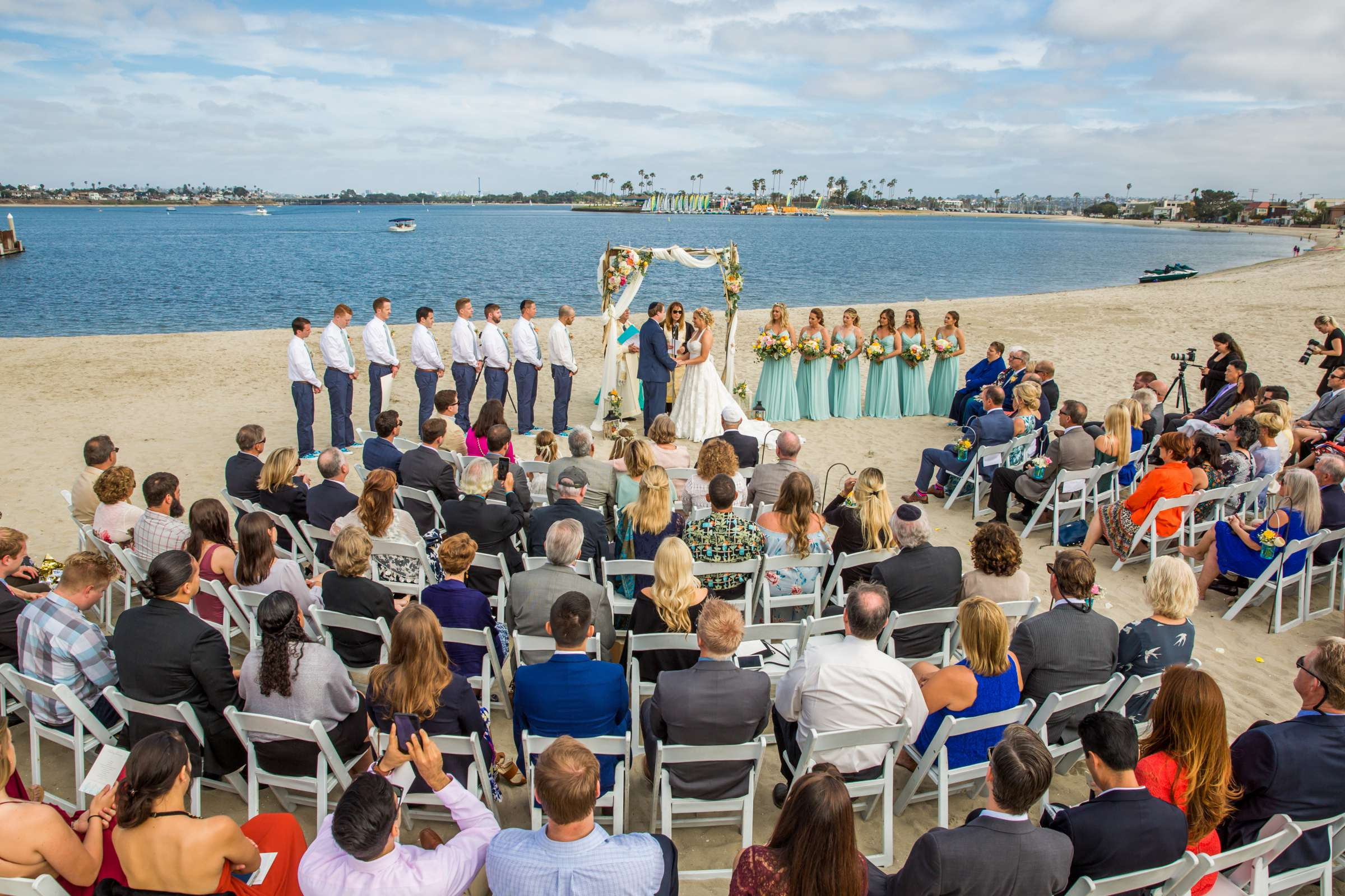 Catamaran Resort Wedding coordinated by Lavish Weddings, Brittany and David Wedding Photo #73 by True Photography