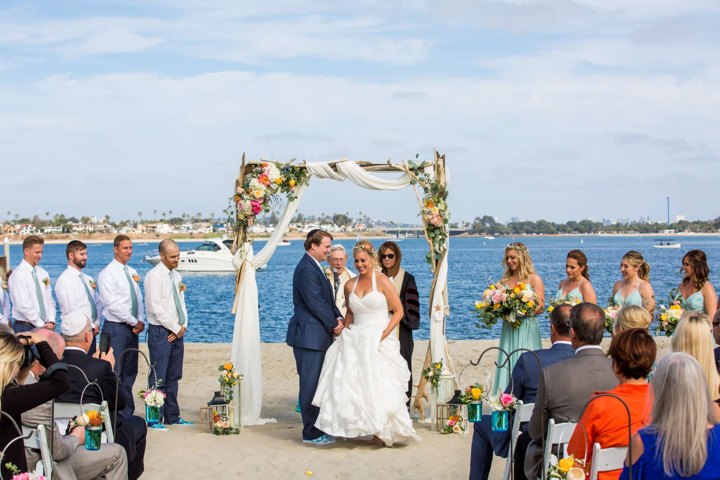 Catamaran Resort Wedding coordinated by Lavish Weddings, Brittany and David Wedding Photo #74 by True Photography