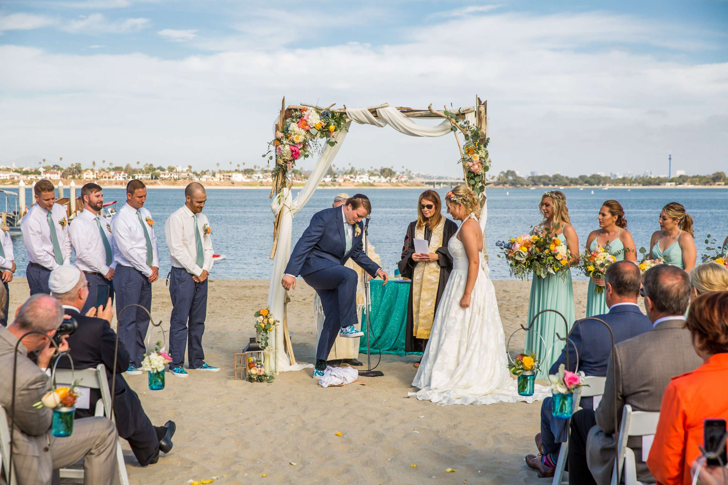 Catamaran Resort Wedding coordinated by Lavish Weddings, Brittany and David Wedding Photo #77 by True Photography