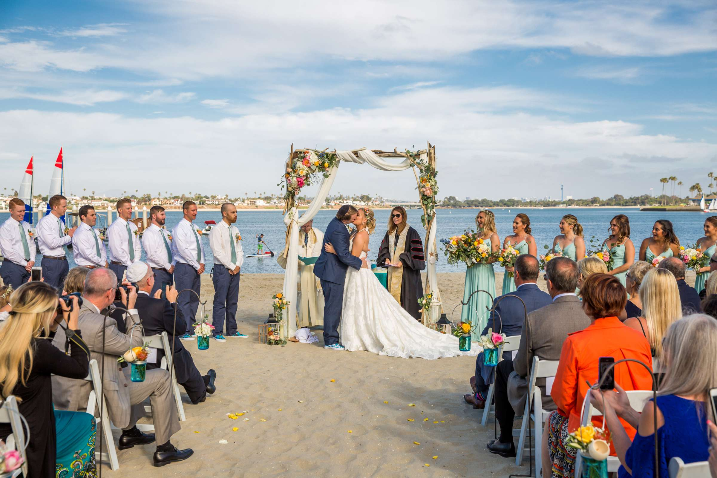 Catamaran Resort Wedding coordinated by Lavish Weddings, Brittany and David Wedding Photo #78 by True Photography