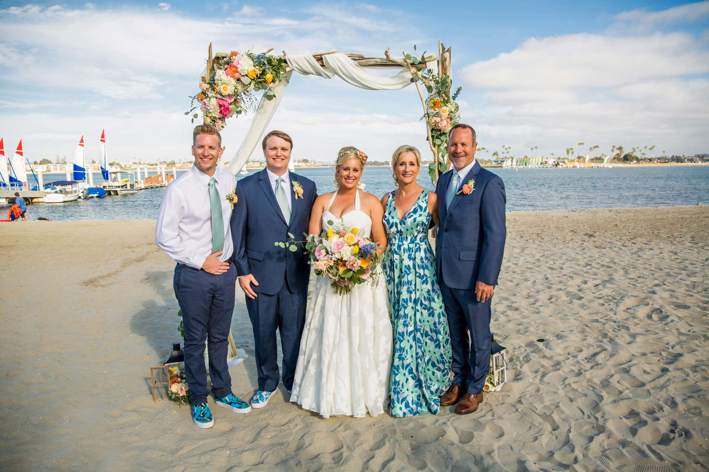 Catamaran Resort Wedding coordinated by Lavish Weddings, Brittany and David Wedding Photo #82 by True Photography