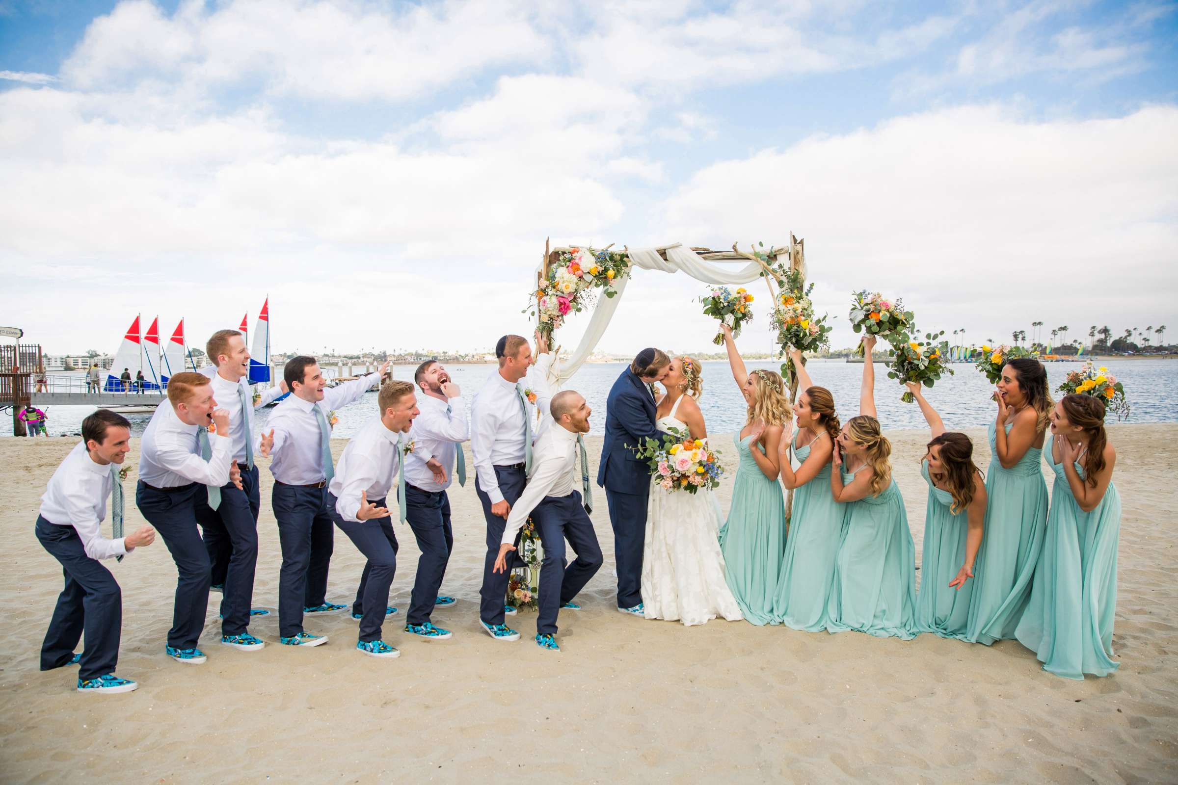 Catamaran Resort Wedding coordinated by Lavish Weddings, Brittany and David Wedding Photo #91 by True Photography