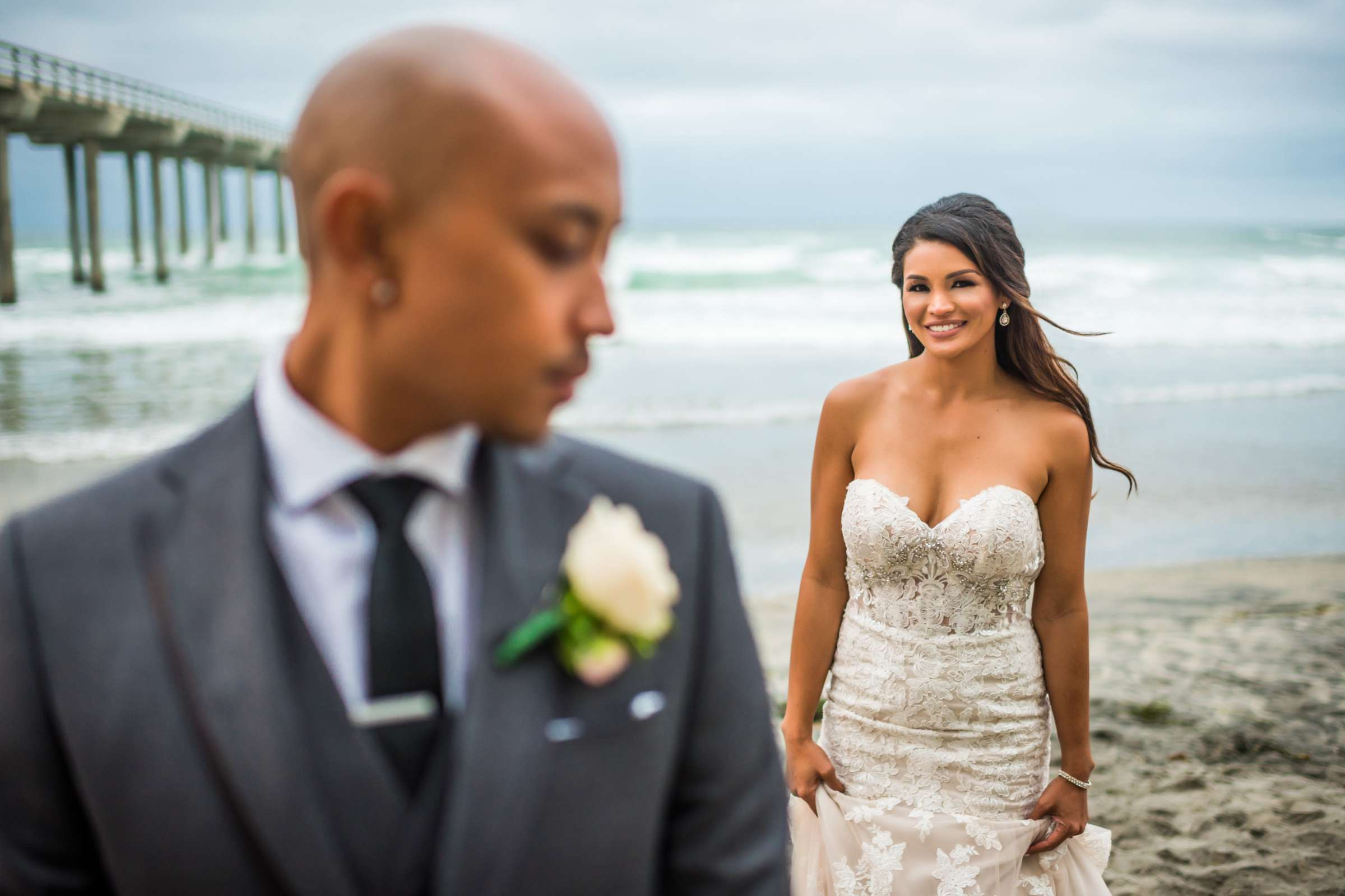 Scripps Seaside Forum Wedding coordinated by Lavish Weddings, Cindy and Justin Wedding Photo #381759 by True Photography
