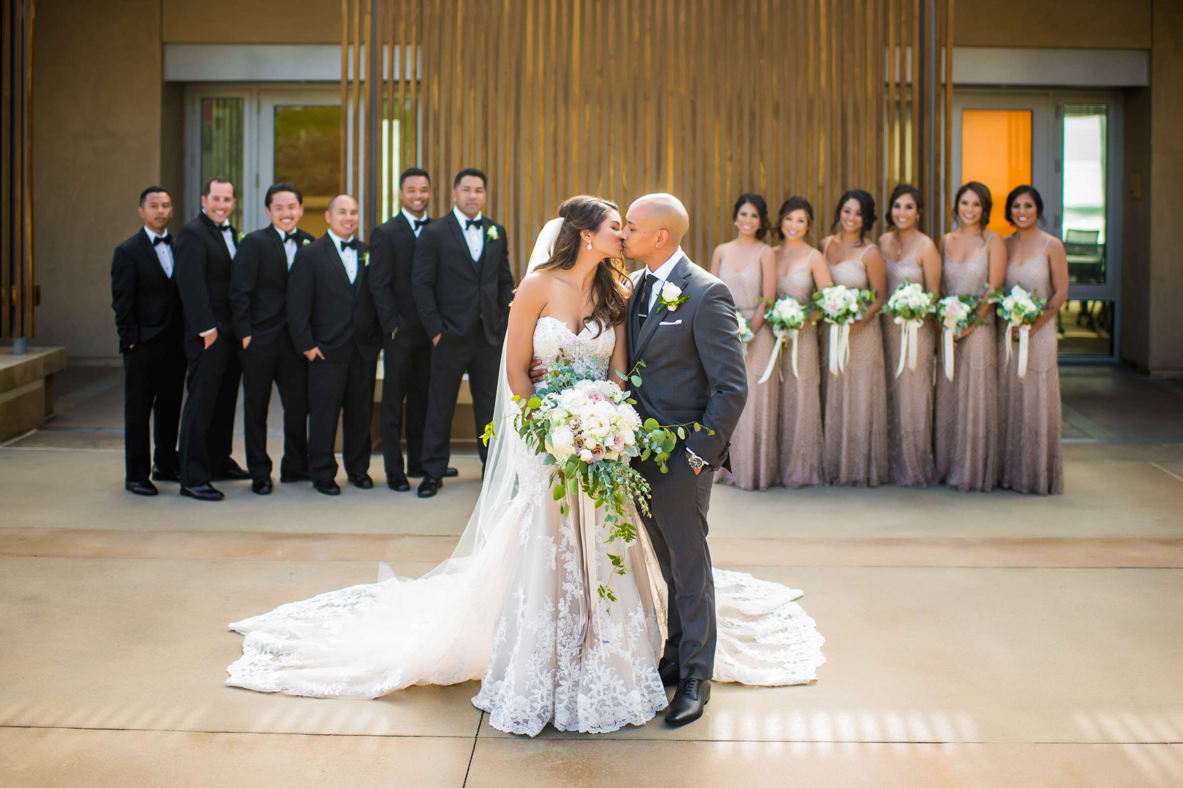 Scripps Seaside Forum Wedding coordinated by Lavish Weddings, Cindy and Justin Wedding Photo #381775 by True Photography