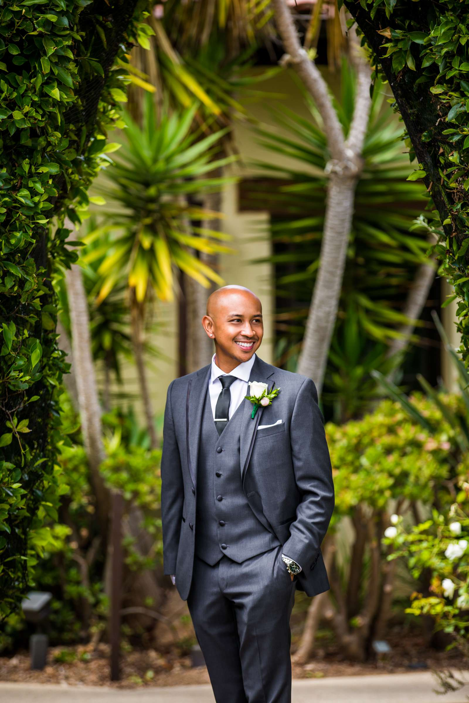 Scripps Seaside Forum Wedding coordinated by Lavish Weddings, Cindy and Justin Wedding Photo #381788 by True Photography