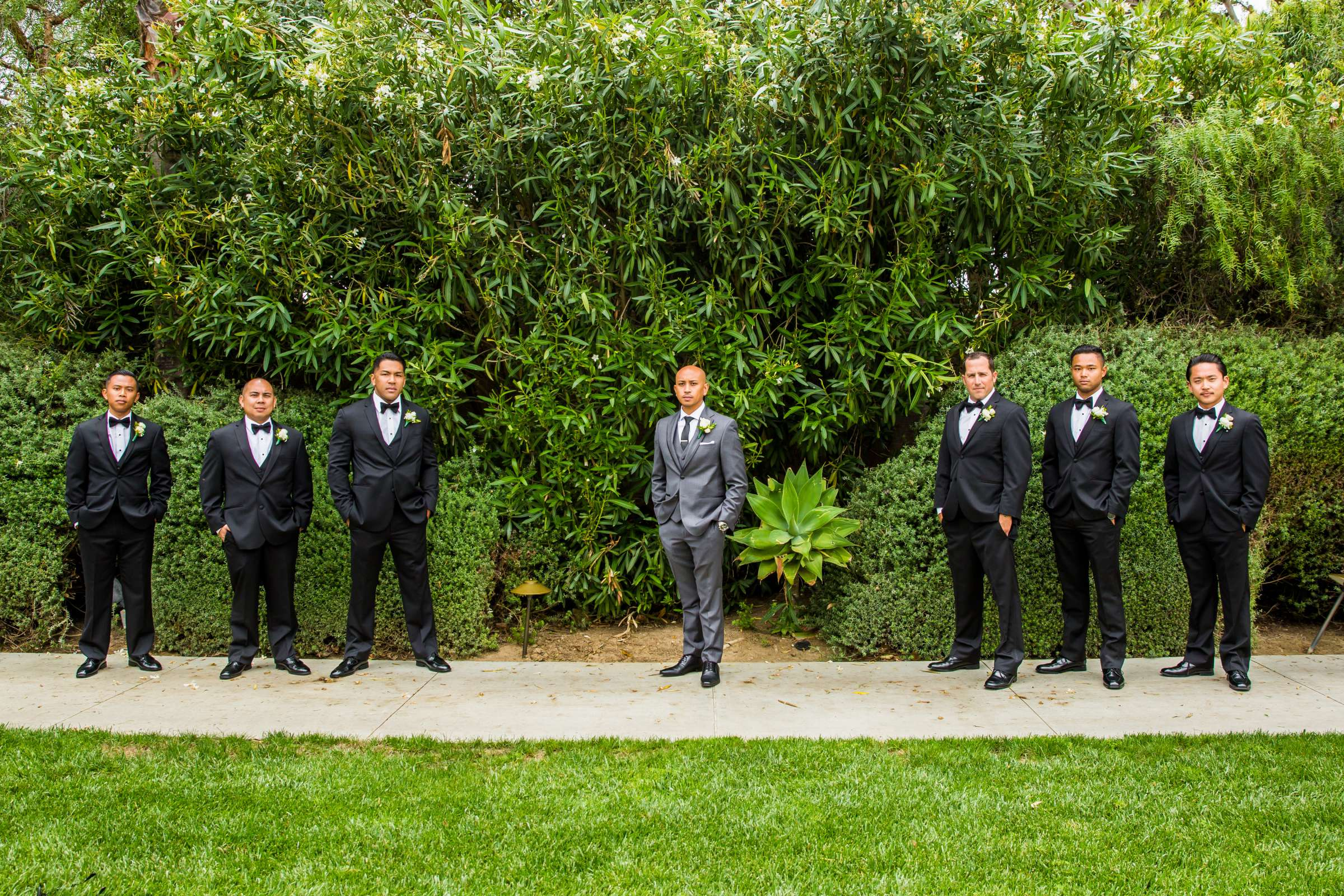 Scripps Seaside Forum Wedding coordinated by Lavish Weddings, Cindy and Justin Wedding Photo #381789 by True Photography