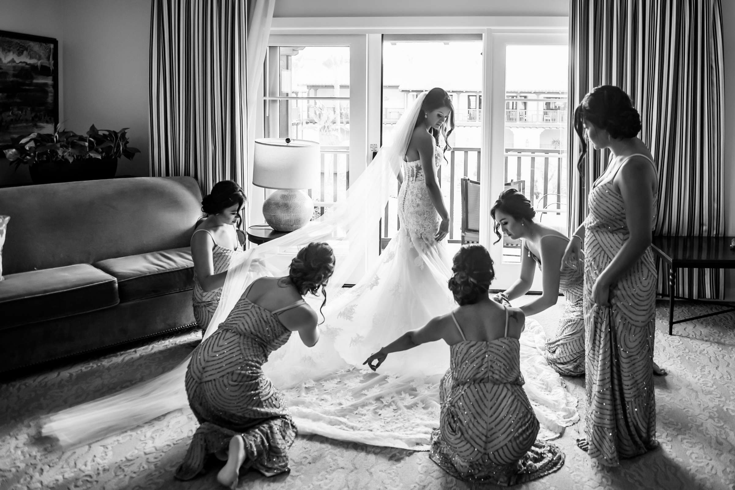 Scripps Seaside Forum Wedding coordinated by Lavish Weddings, Cindy and Justin Wedding Photo #381797 by True Photography