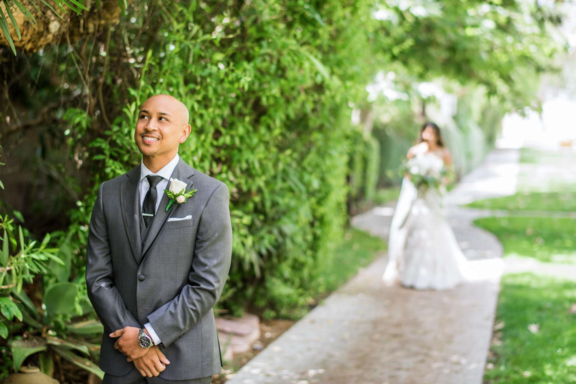 Scripps Seaside Forum Wedding coordinated by Lavish Weddings, Cindy and Justin Wedding Photo #381799 by True Photography