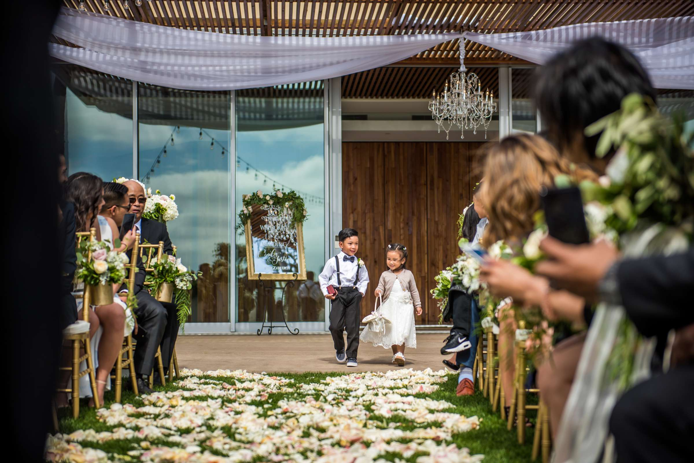 Scripps Seaside Forum Wedding coordinated by Lavish Weddings, Cindy and Justin Wedding Photo #381812 by True Photography