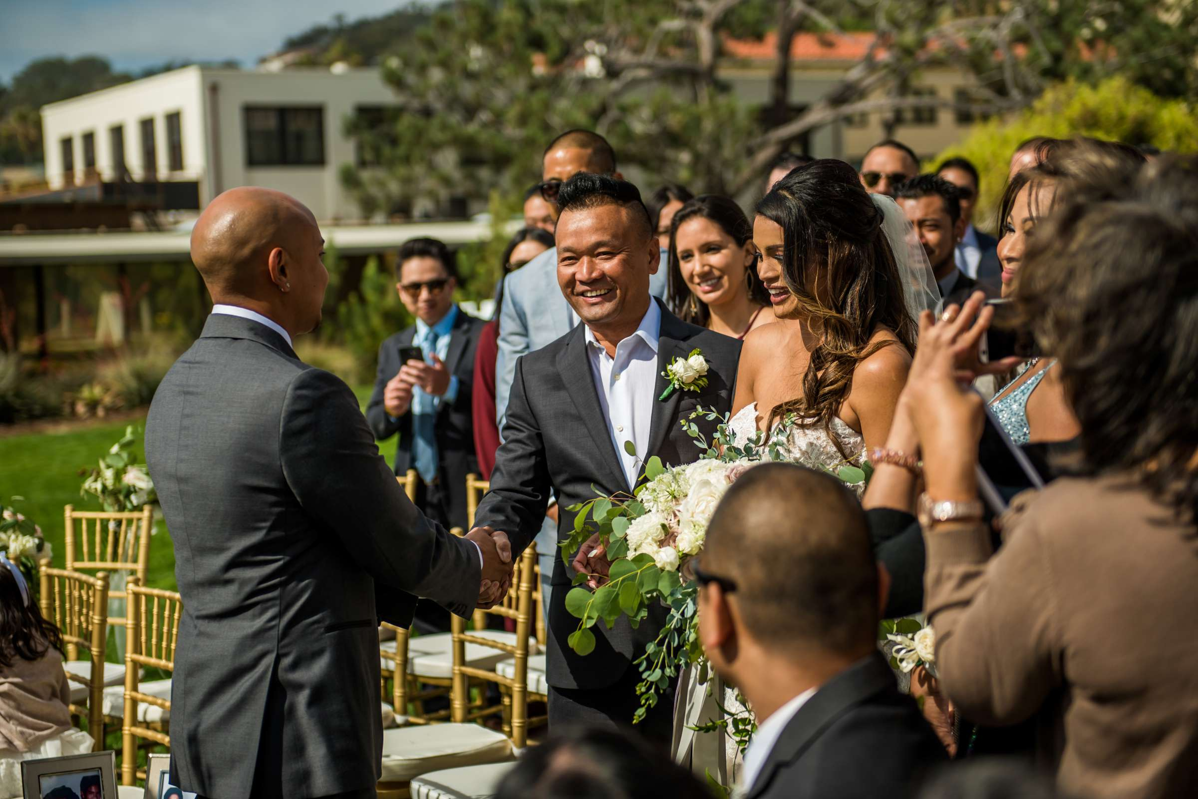 Scripps Seaside Forum Wedding coordinated by Lavish Weddings, Cindy and Justin Wedding Photo #381818 by True Photography