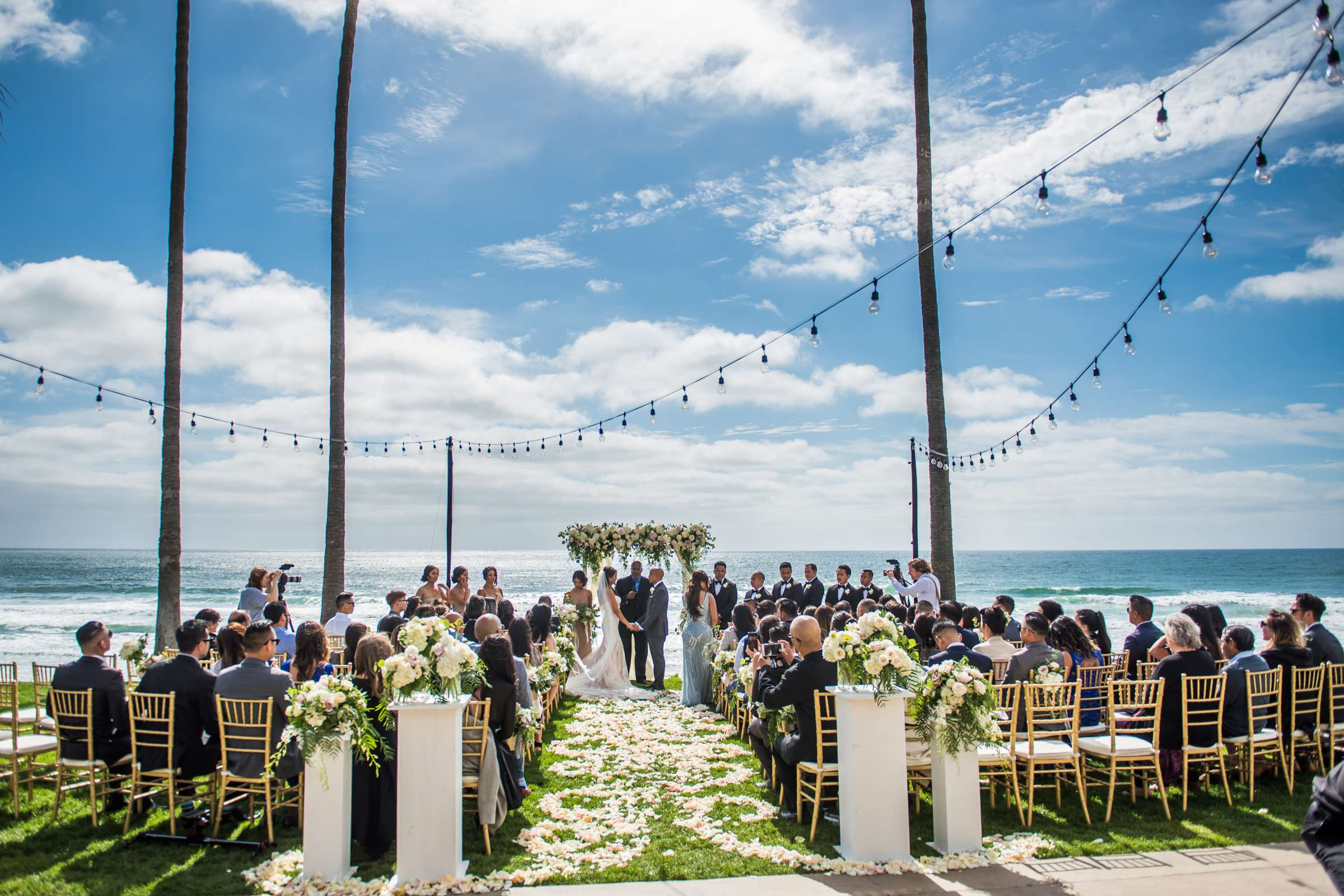 Scripps Seaside Forum Wedding coordinated by Lavish Weddings, Cindy and Justin Wedding Photo #381819 by True Photography