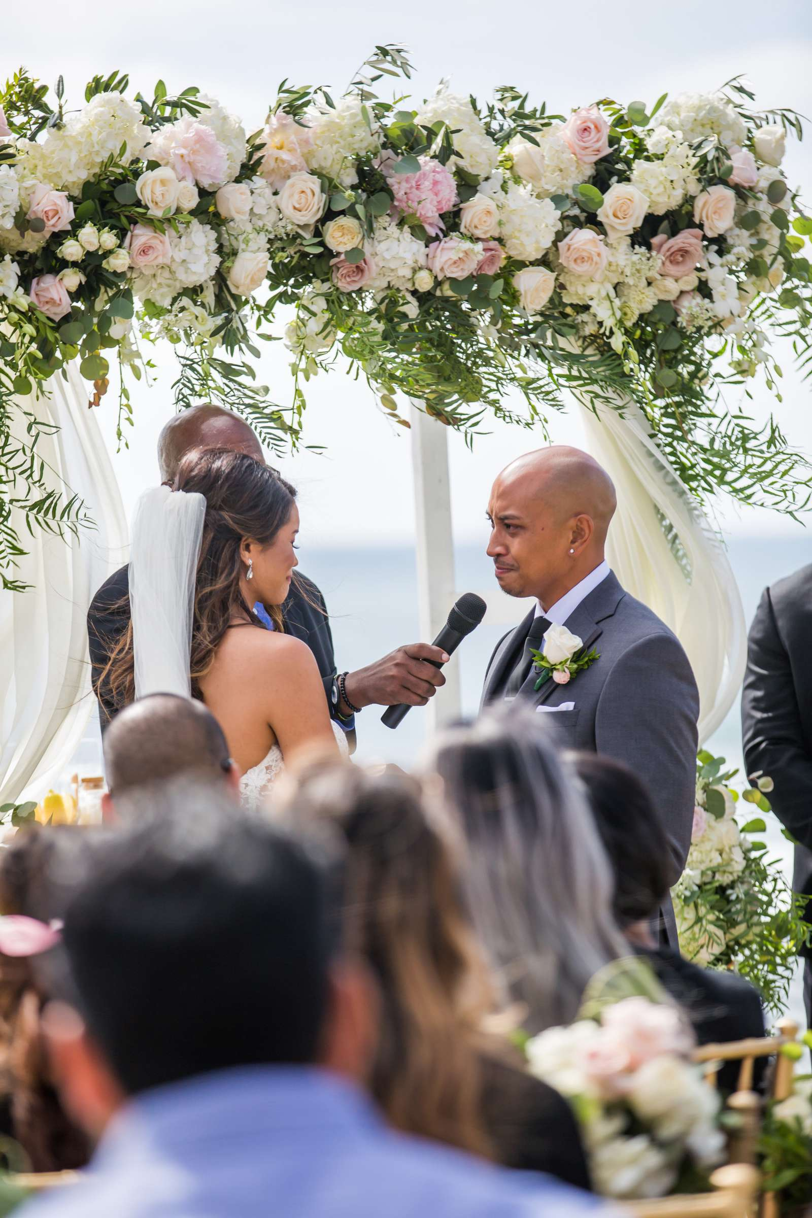 Scripps Seaside Forum Wedding coordinated by Lavish Weddings, Cindy and Justin Wedding Photo #381825 by True Photography
