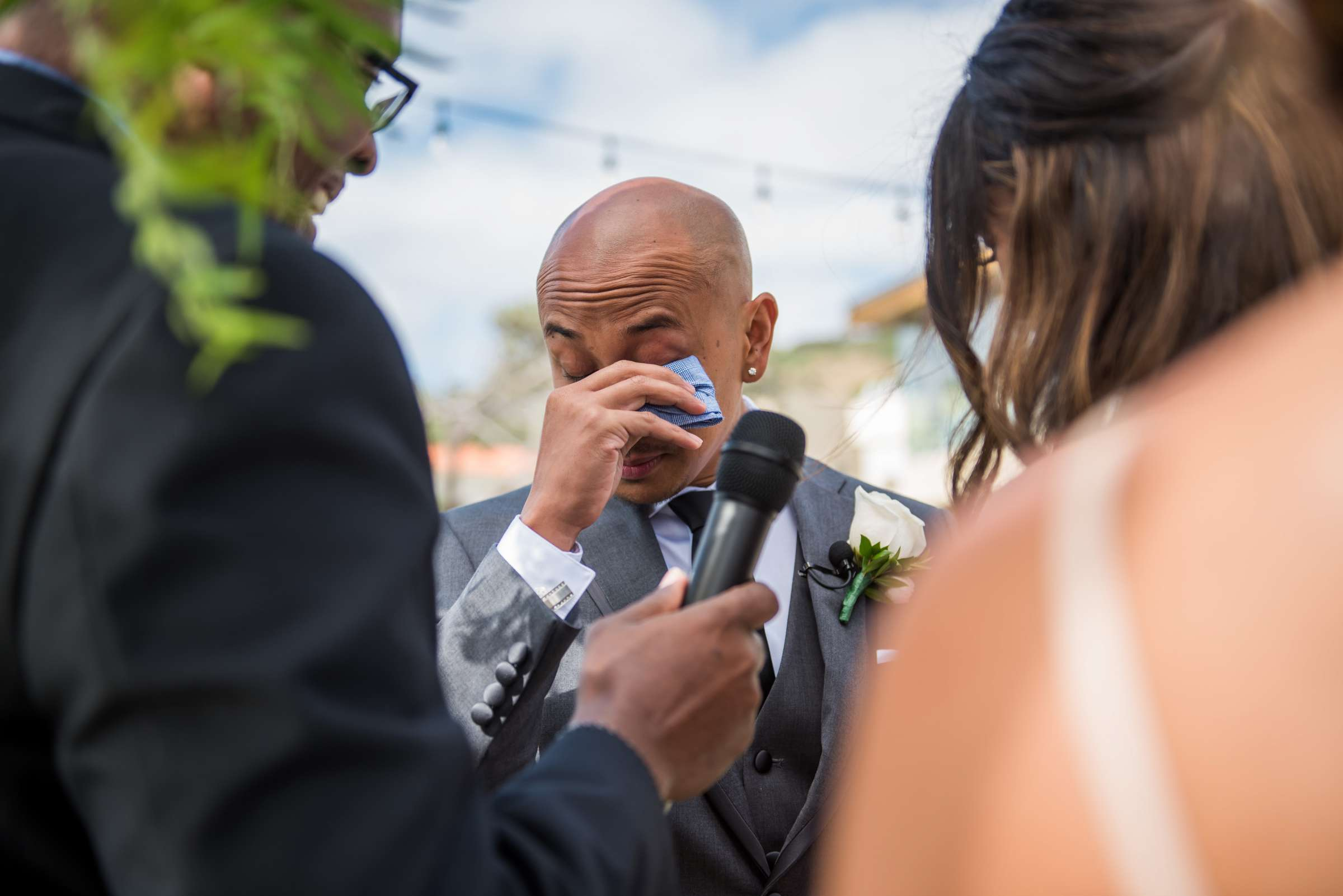 Scripps Seaside Forum Wedding coordinated by Lavish Weddings, Cindy and Justin Wedding Photo #381826 by True Photography