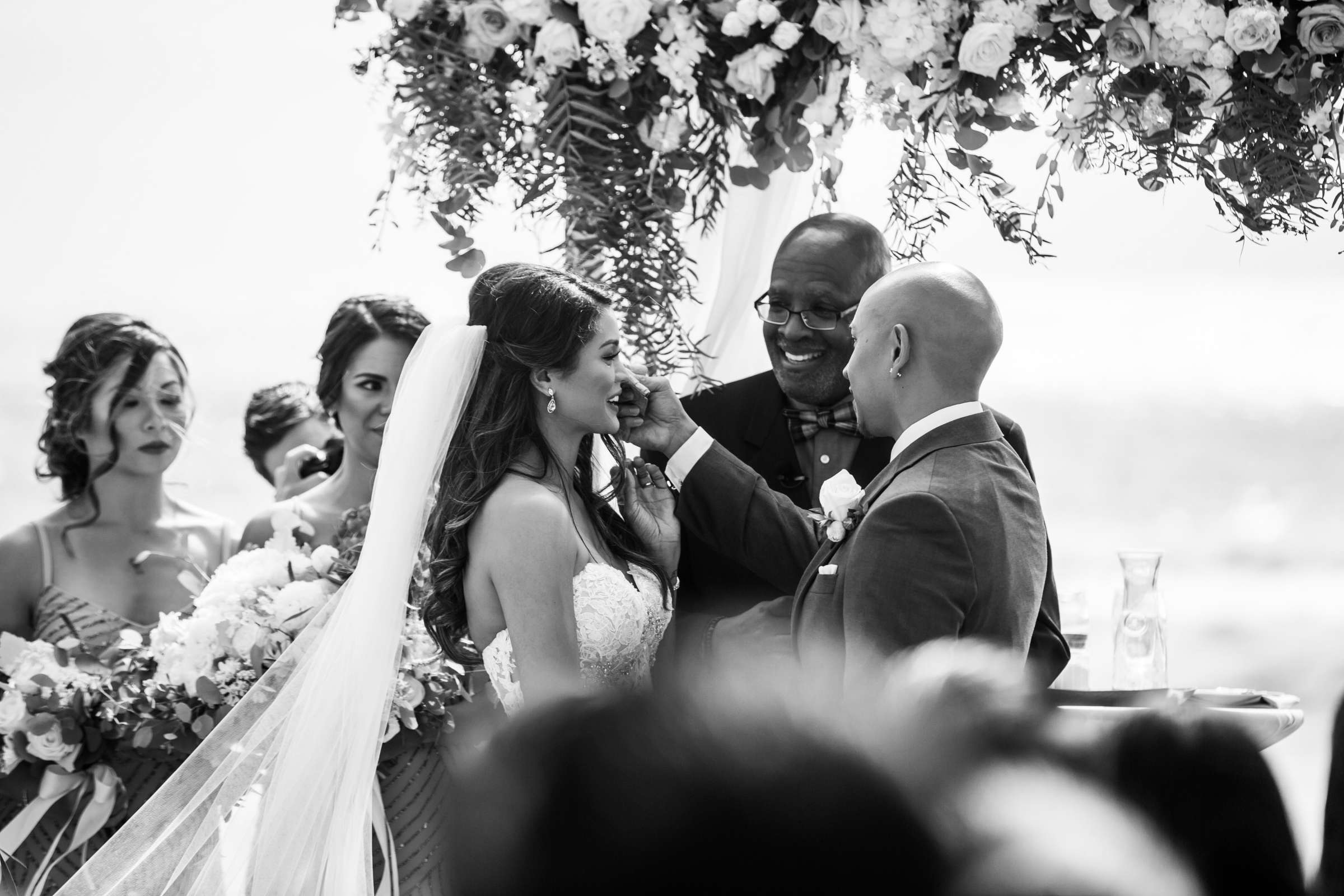 Scripps Seaside Forum Wedding coordinated by Lavish Weddings, Cindy and Justin Wedding Photo #381827 by True Photography