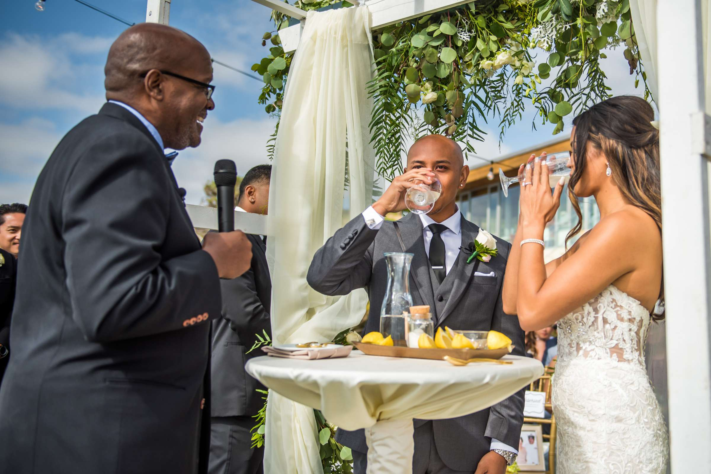 Scripps Seaside Forum Wedding coordinated by Lavish Weddings, Cindy and Justin Wedding Photo #381833 by True Photography