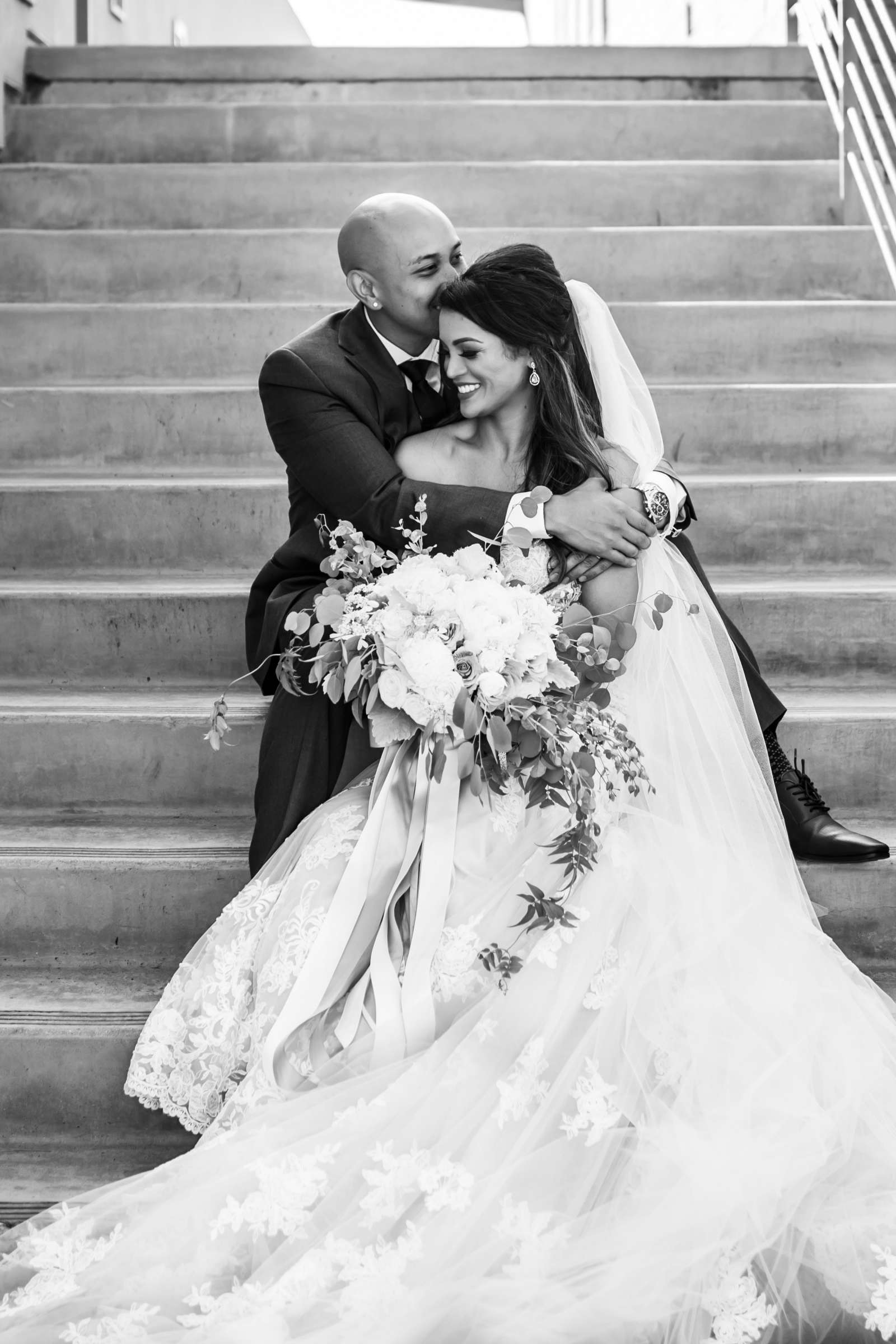 Scripps Seaside Forum Wedding coordinated by Lavish Weddings, Cindy and Justin Wedding Photo #381840 by True Photography