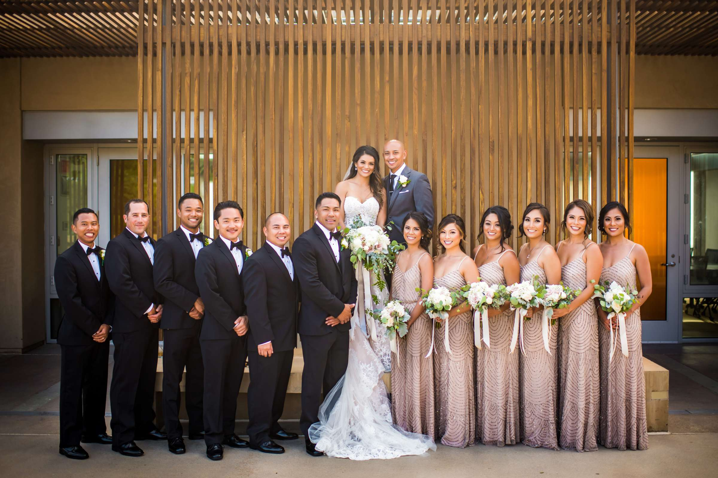 Scripps Seaside Forum Wedding coordinated by Lavish Weddings, Cindy and Justin Wedding Photo #381845 by True Photography