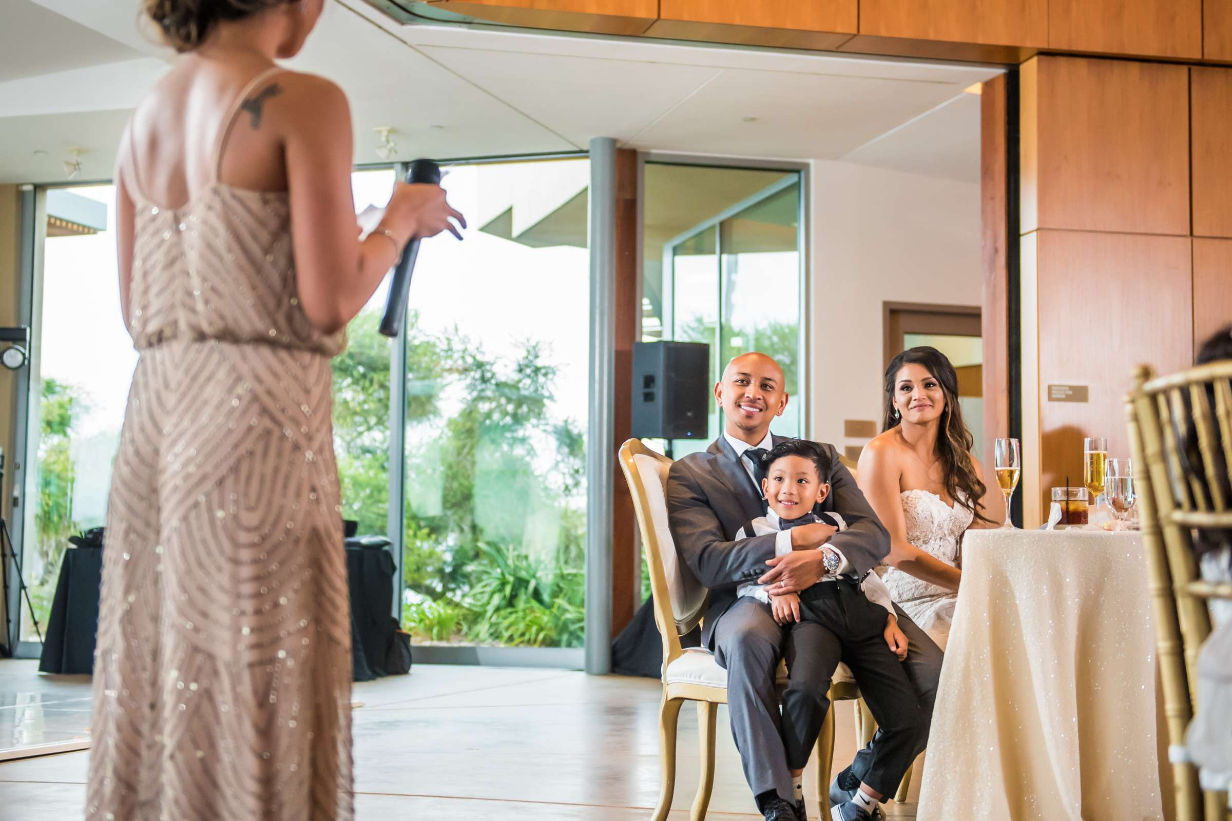 Scripps Seaside Forum Wedding coordinated by Lavish Weddings, Cindy and Justin Wedding Photo #381859 by True Photography