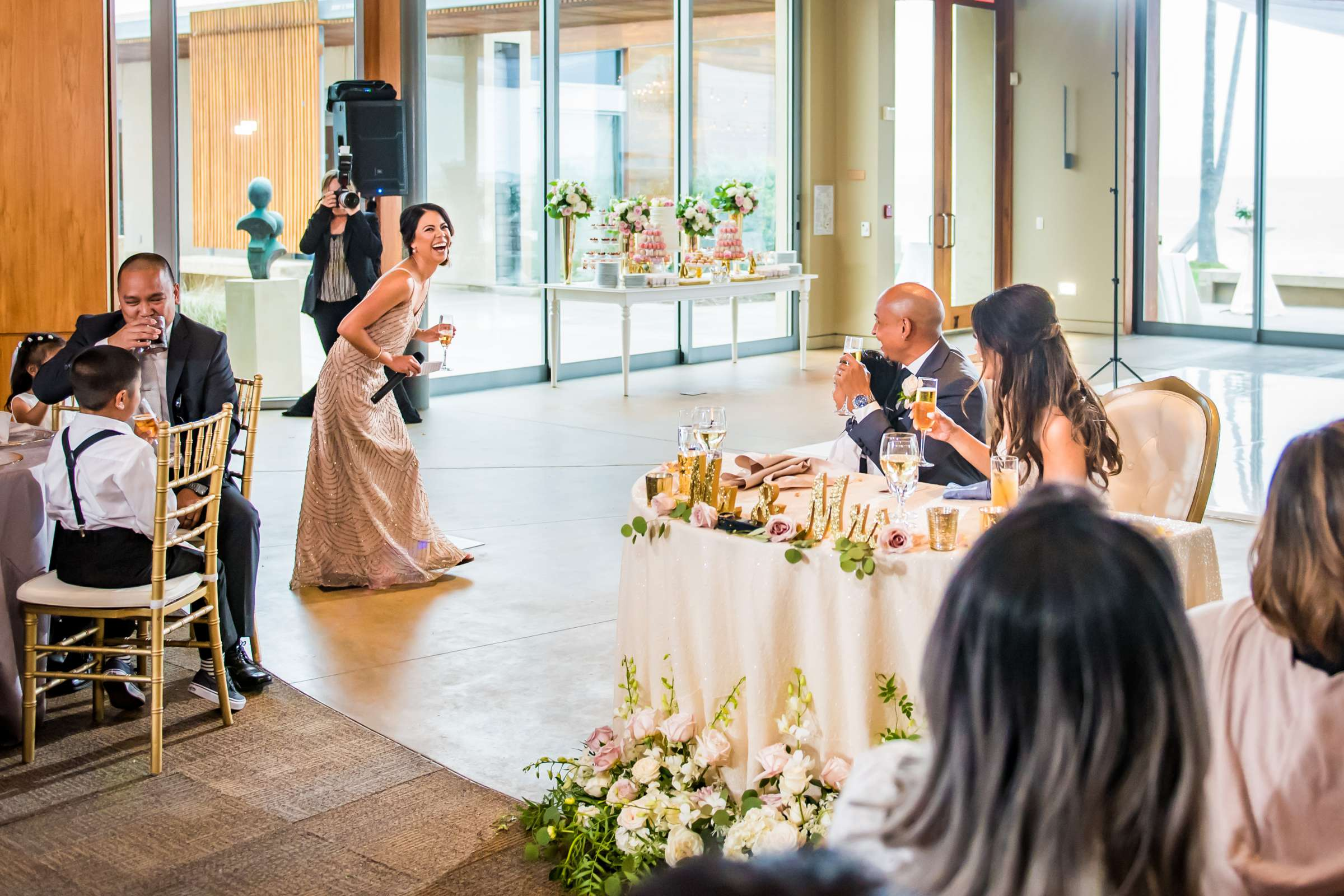 Scripps Seaside Forum Wedding coordinated by Lavish Weddings, Cindy and Justin Wedding Photo #381860 by True Photography
