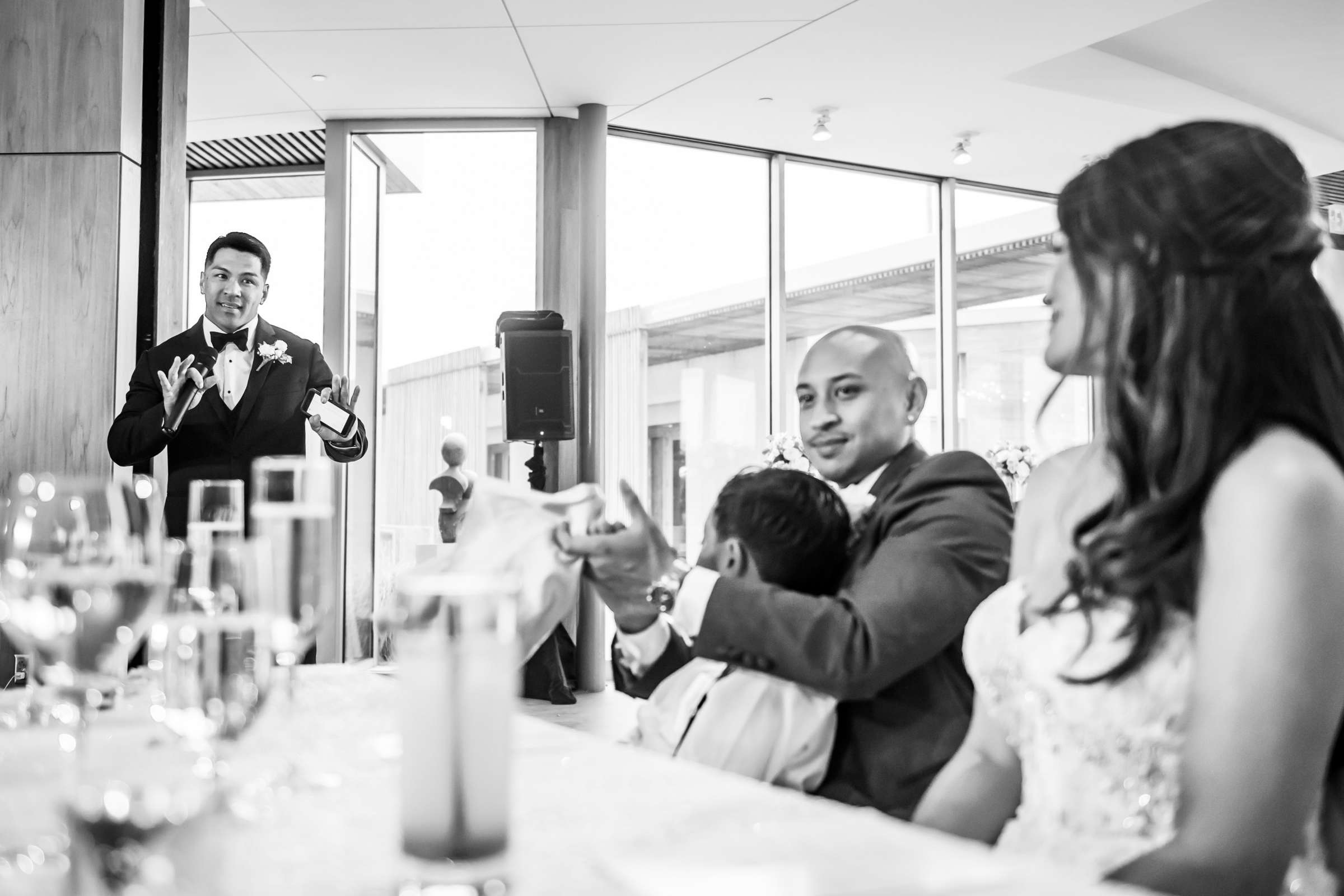 Scripps Seaside Forum Wedding coordinated by Lavish Weddings, Cindy and Justin Wedding Photo #381861 by True Photography