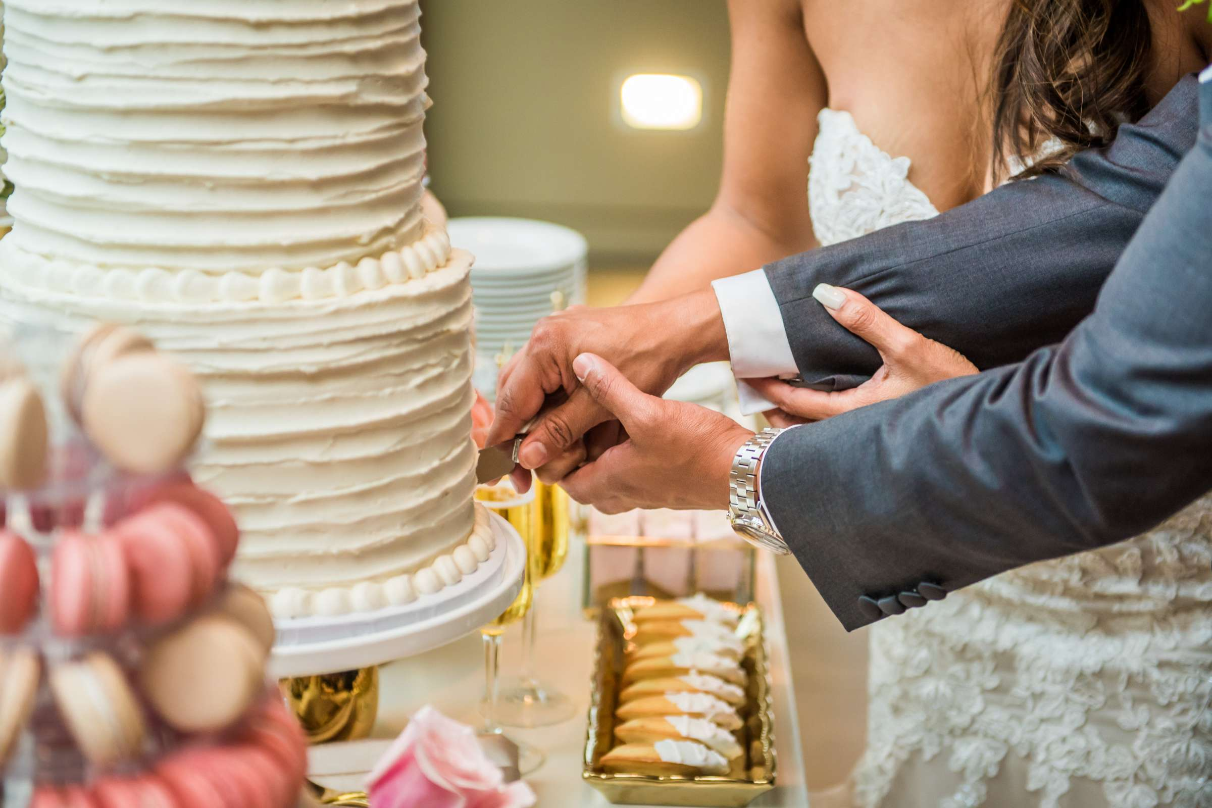 Scripps Seaside Forum Wedding coordinated by Lavish Weddings, Cindy and Justin Wedding Photo #381864 by True Photography