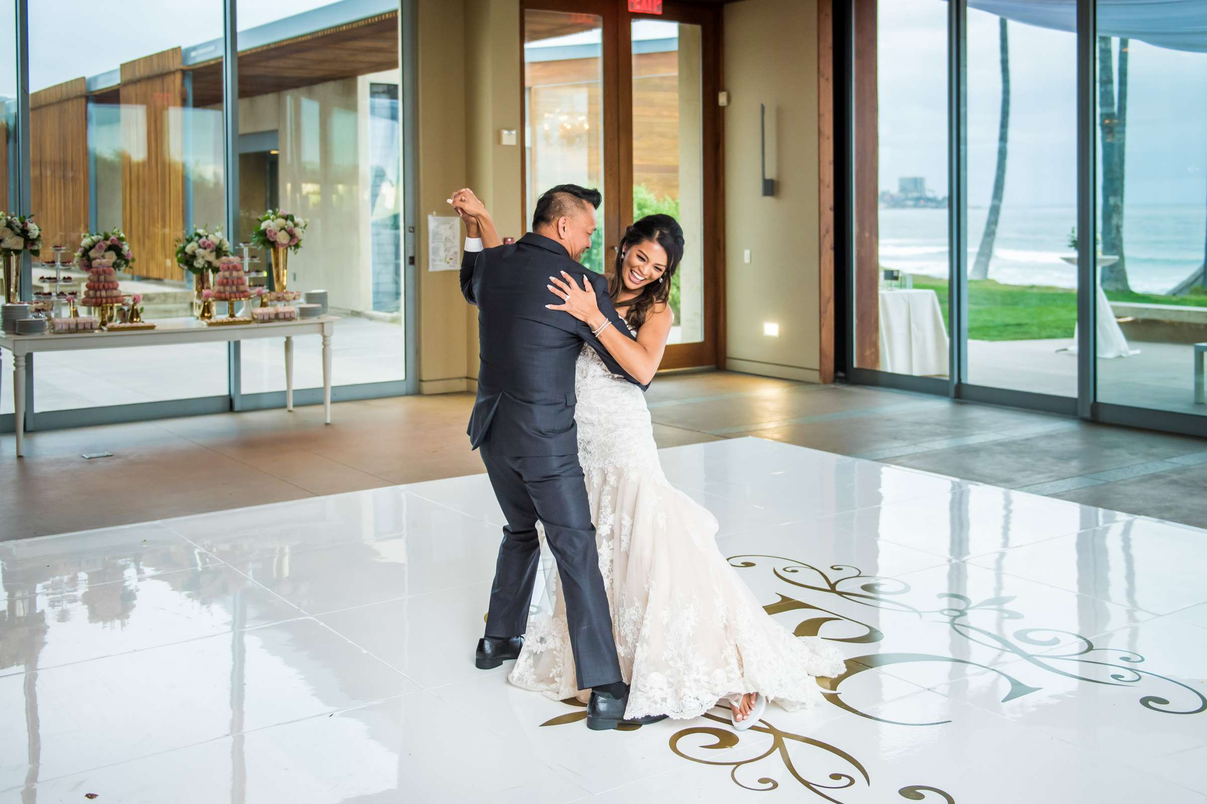 Scripps Seaside Forum Wedding coordinated by Lavish Weddings, Cindy and Justin Wedding Photo #381867 by True Photography
