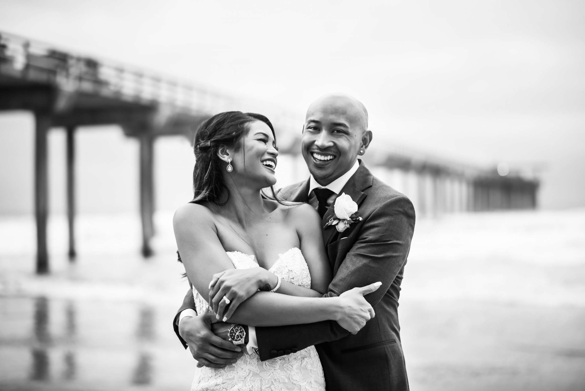 Scripps Seaside Forum Wedding coordinated by Lavish Weddings, Cindy and Justin Wedding Photo #381871 by True Photography