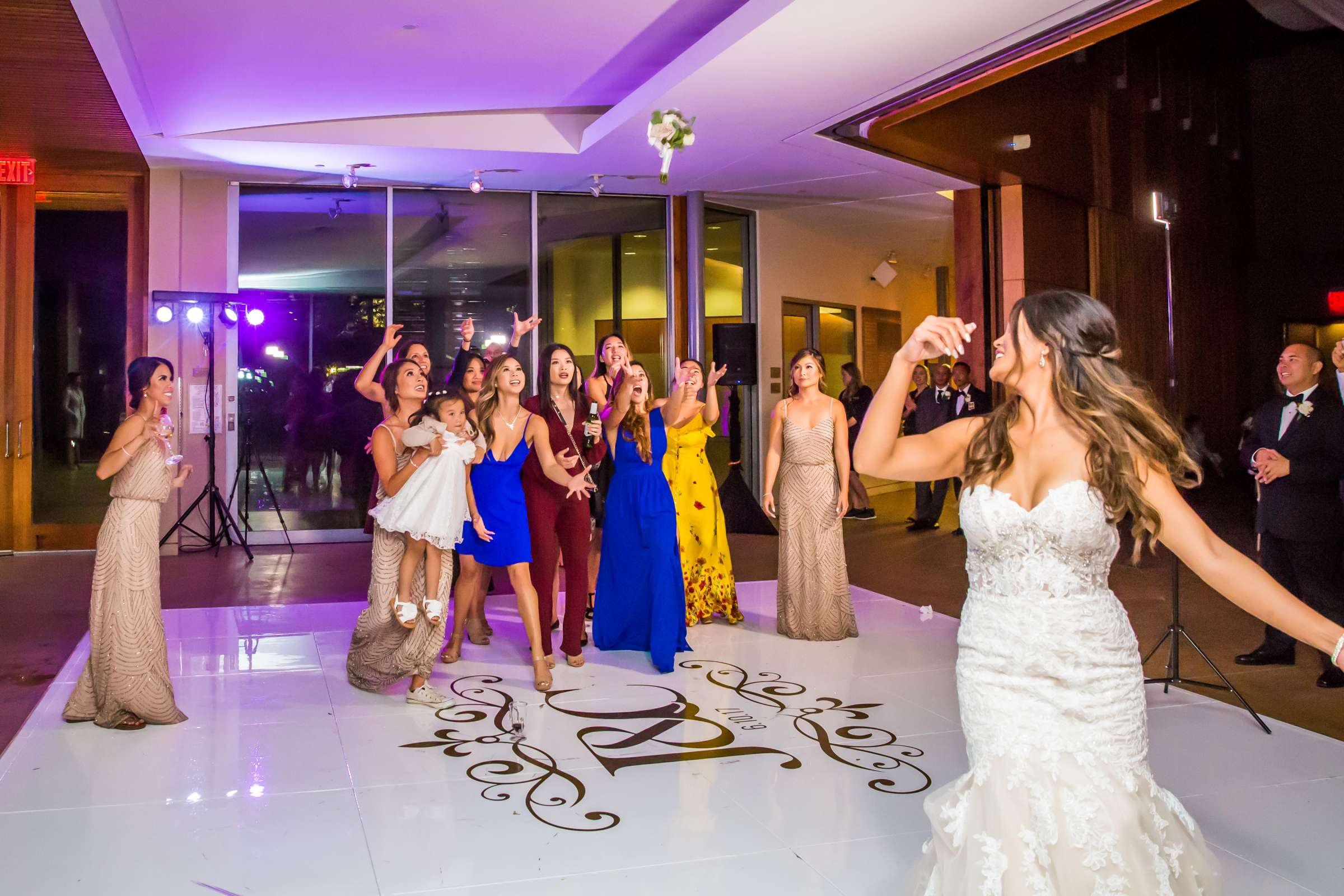 Scripps Seaside Forum Wedding coordinated by Lavish Weddings, Cindy and Justin Wedding Photo #381883 by True Photography