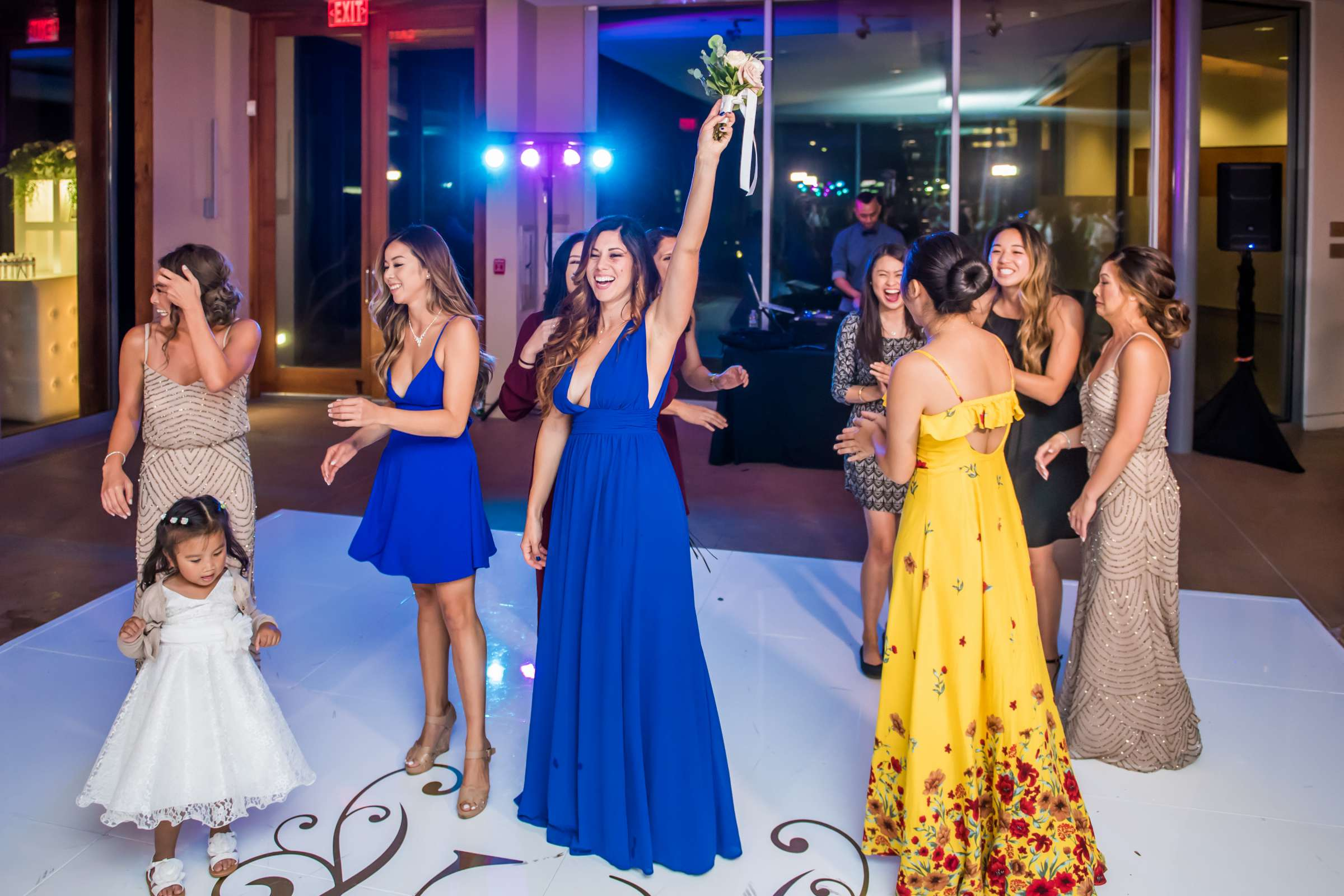 Scripps Seaside Forum Wedding coordinated by Lavish Weddings, Cindy and Justin Wedding Photo #381884 by True Photography